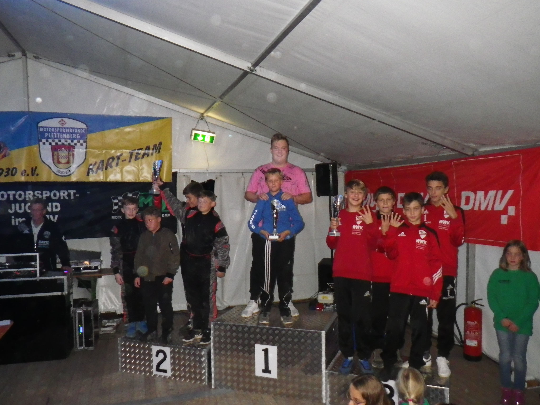 Youngstars MSC Land Hadeln 1 auf dem zweiten Platz