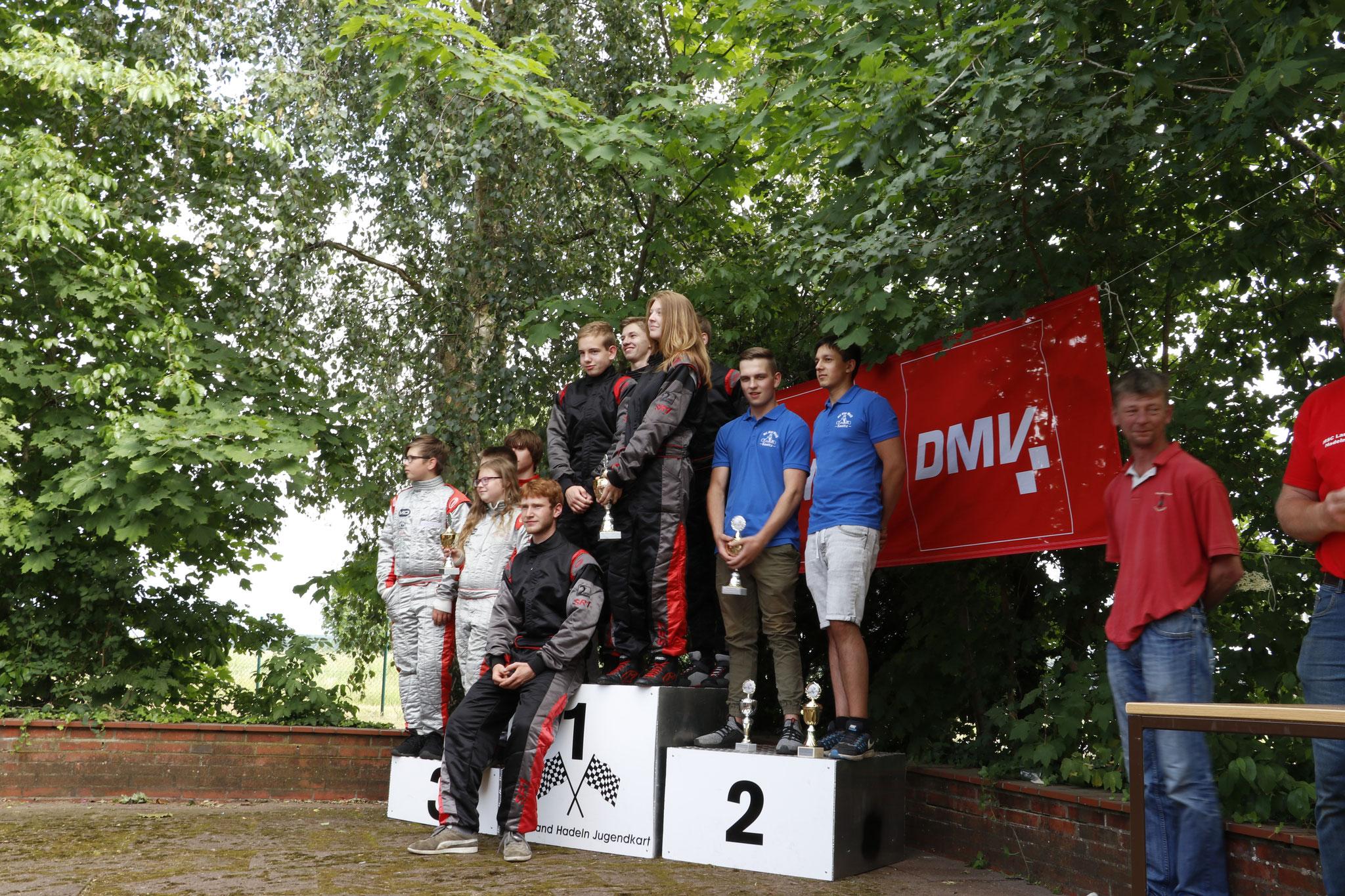 Die Mannschaft MSC Land Hadeln 1 belegte ebenfalls den ersten Platz
