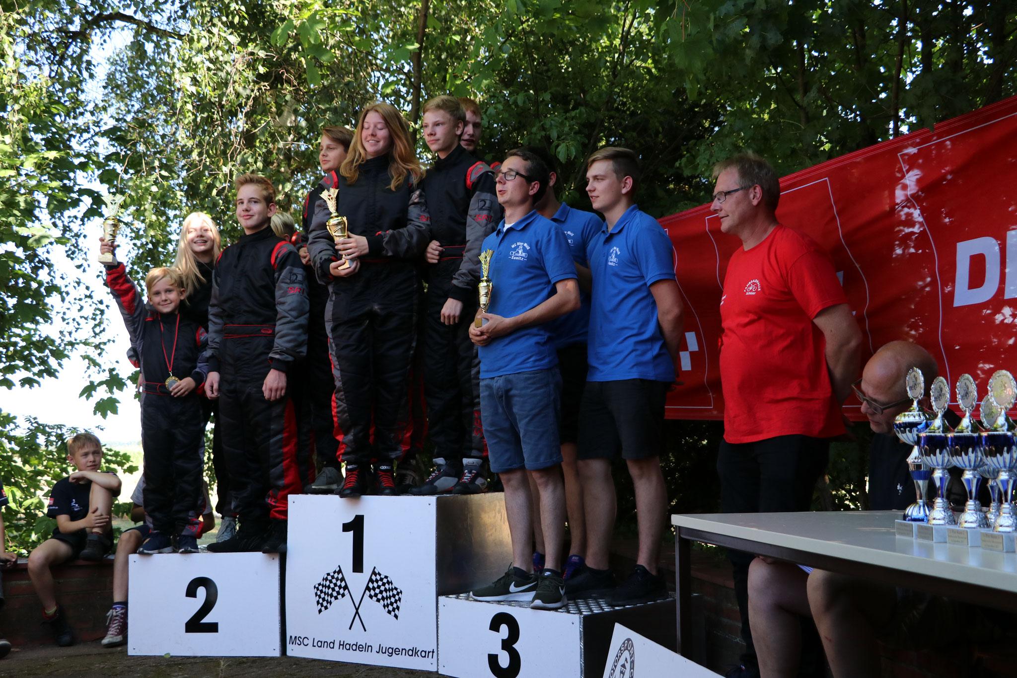 Die Mannschaft MSC Land Hadeln 1 kam auf den ersten Platz und MSC Land Hadeln 2  auf den Zweiten