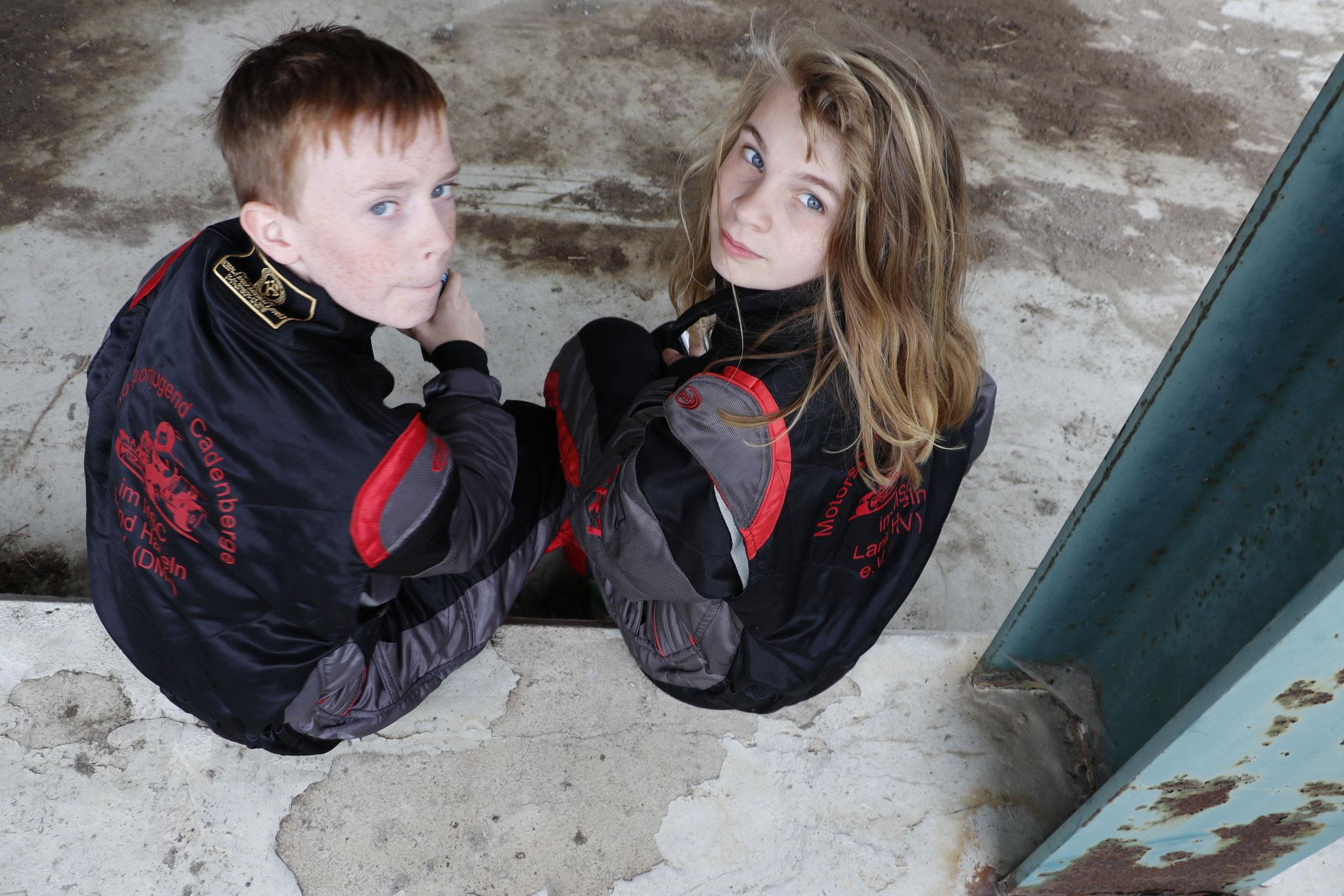 Justin Reimers und Lena Altmann