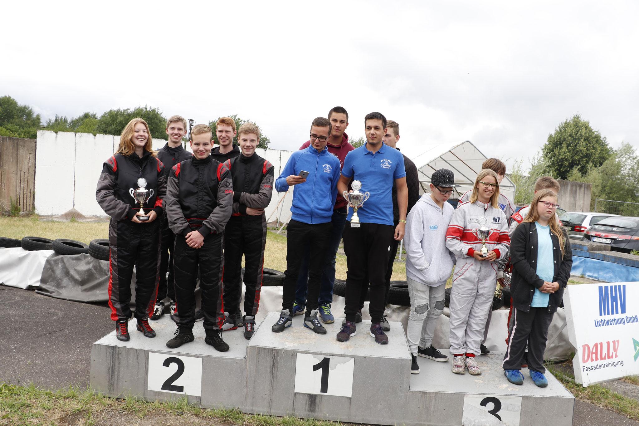 Die Mannschaft MSC land Hadeln 1 olte sich den zweiten Platz