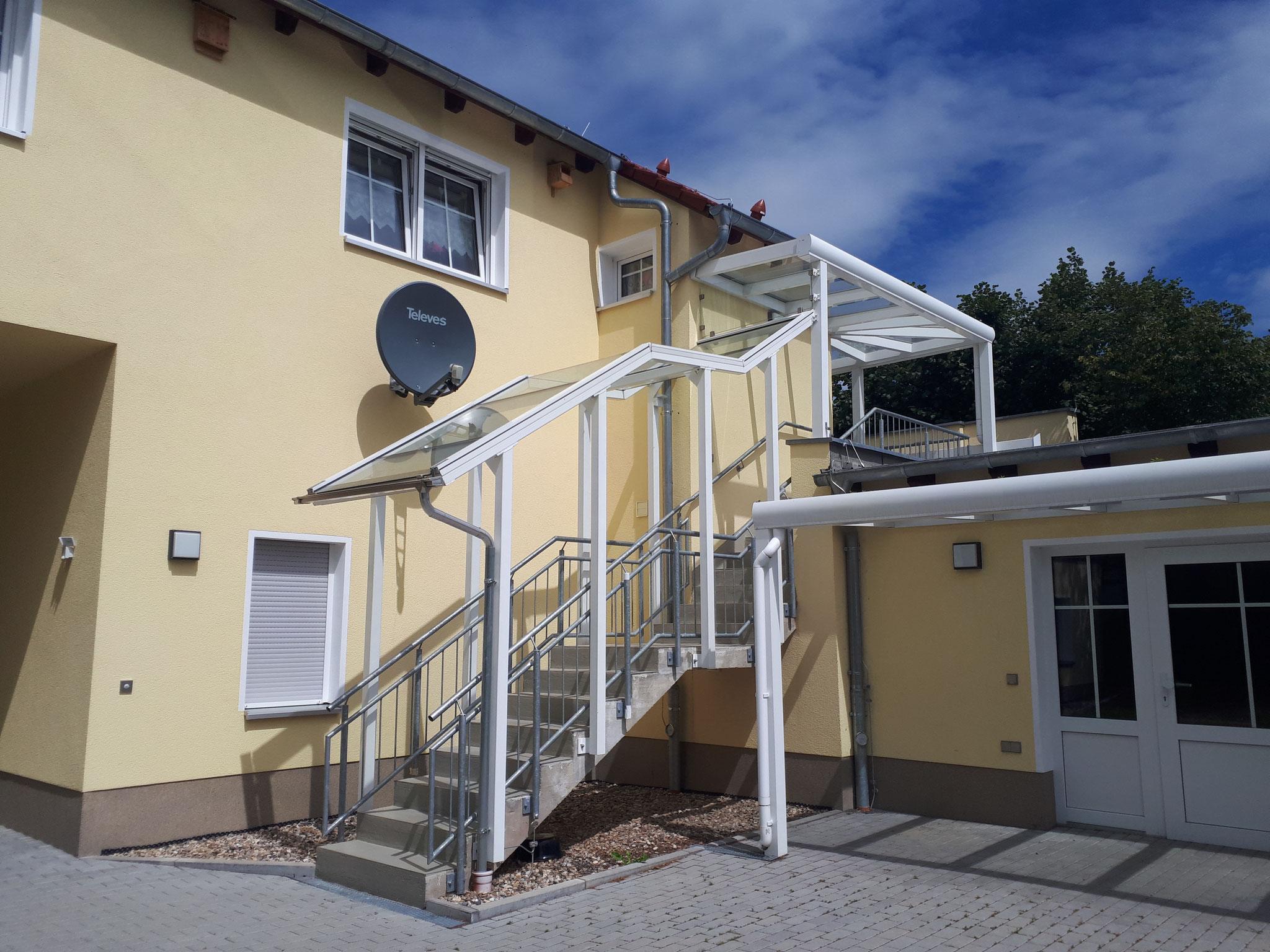 Überdachung+Geländer