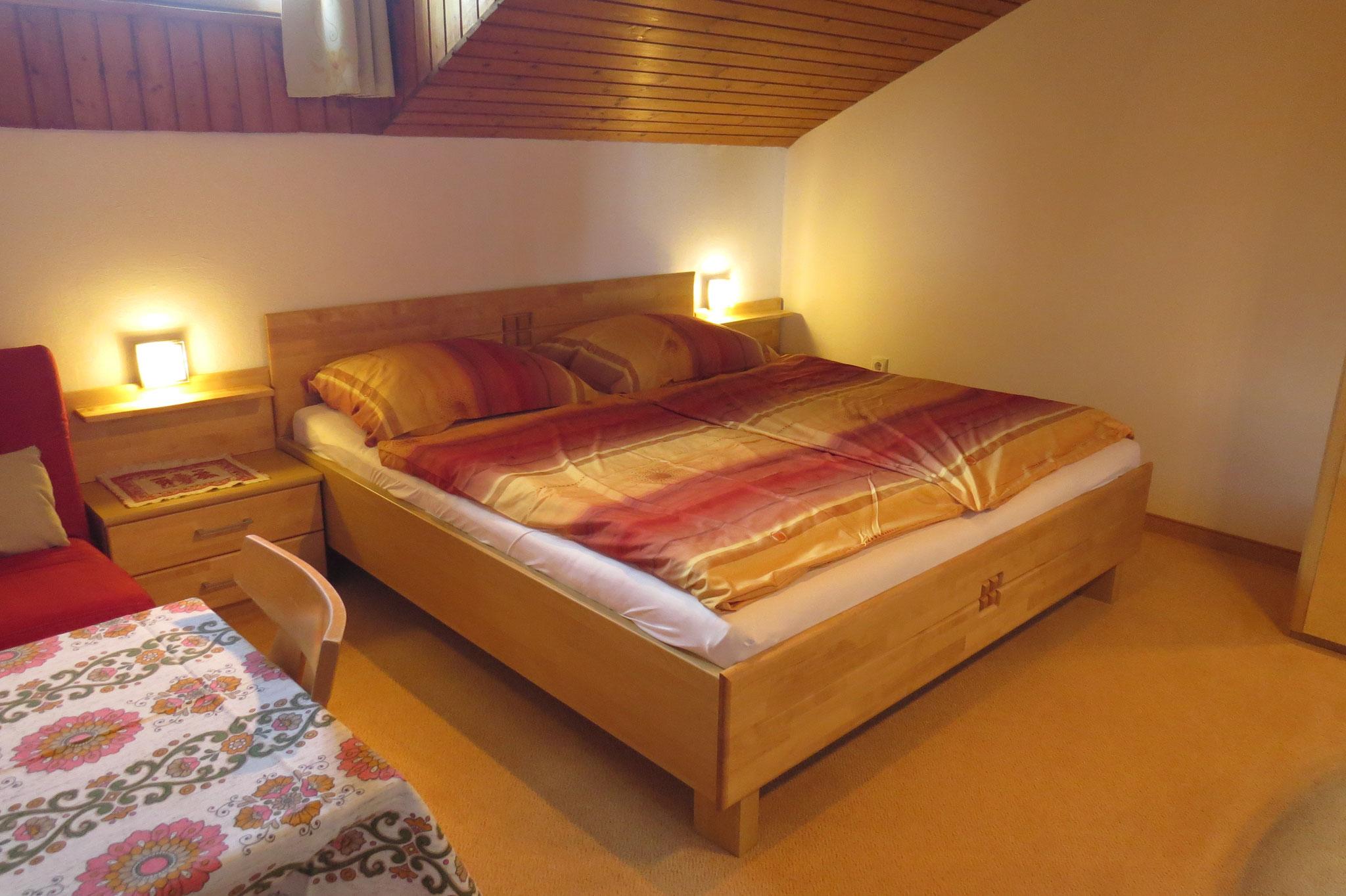 Biohof Haus Wieser Apartment 5 - 8 Personen Dreibettzimmer