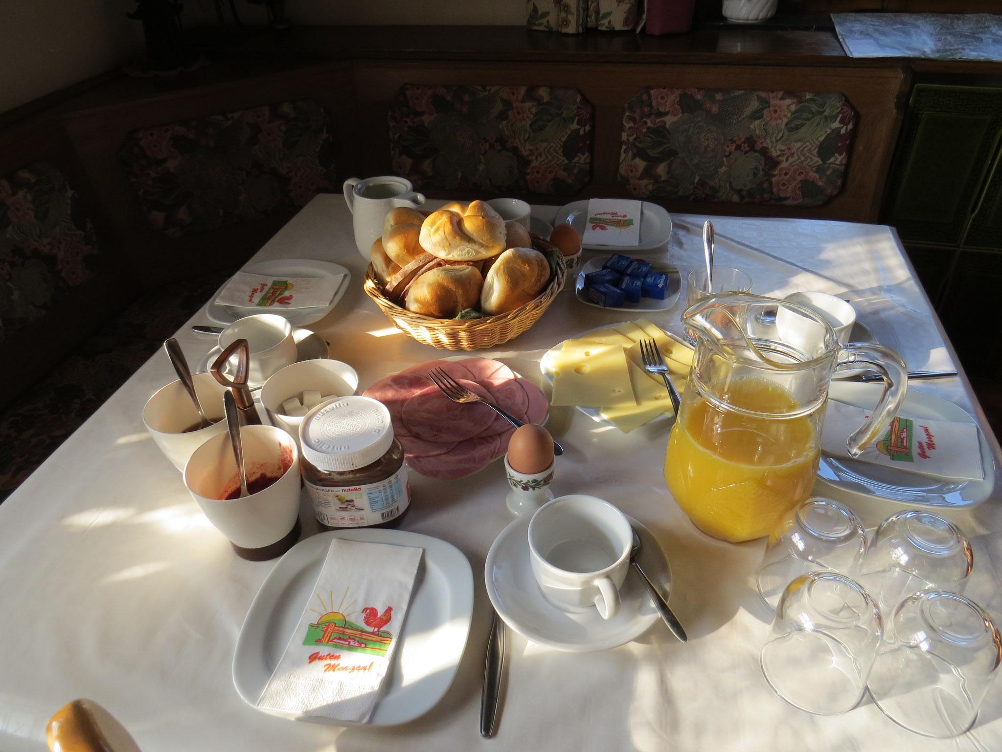 Frühstück, Biohof Haus Wieser, Abtenau, Salzburg Land