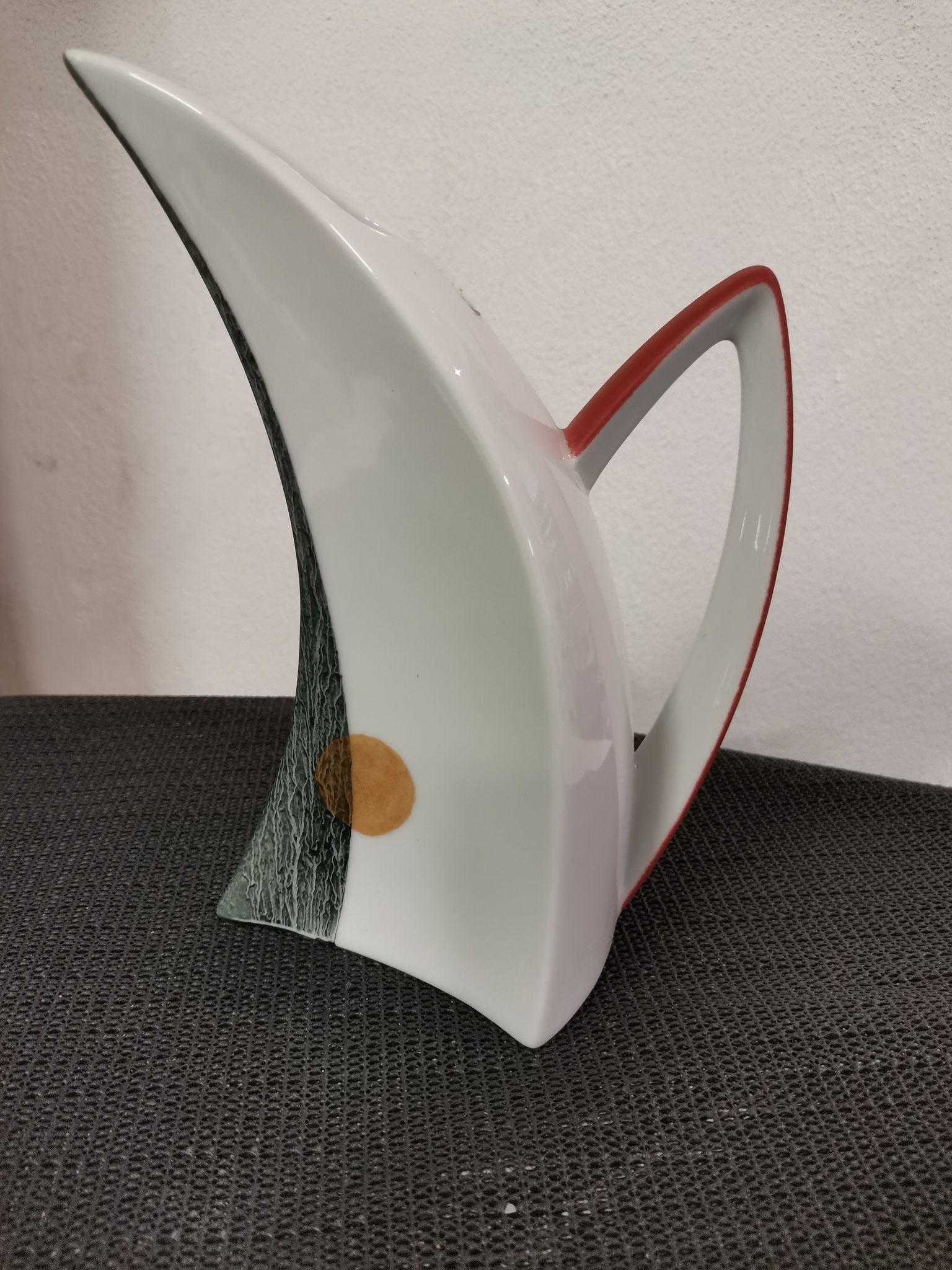 Designerkrug mit Henkel, Inh. ca. 0,5 l, handwerklich gefertigt, Einzelstück