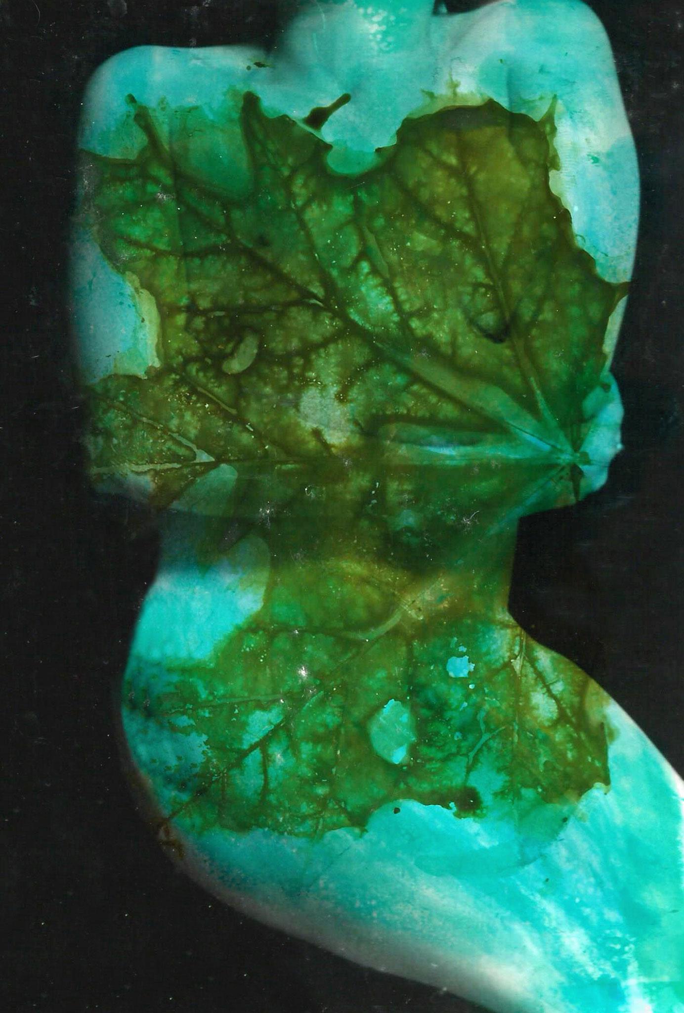 HUMAN NATURE Zero 2, Fotocollage aus der Werkreihe HUMAN NATURE, digitaler Fotoprint Epson Enhanced Matte montiert auf Canvas, 2019, hxb 100 x 70 cm
