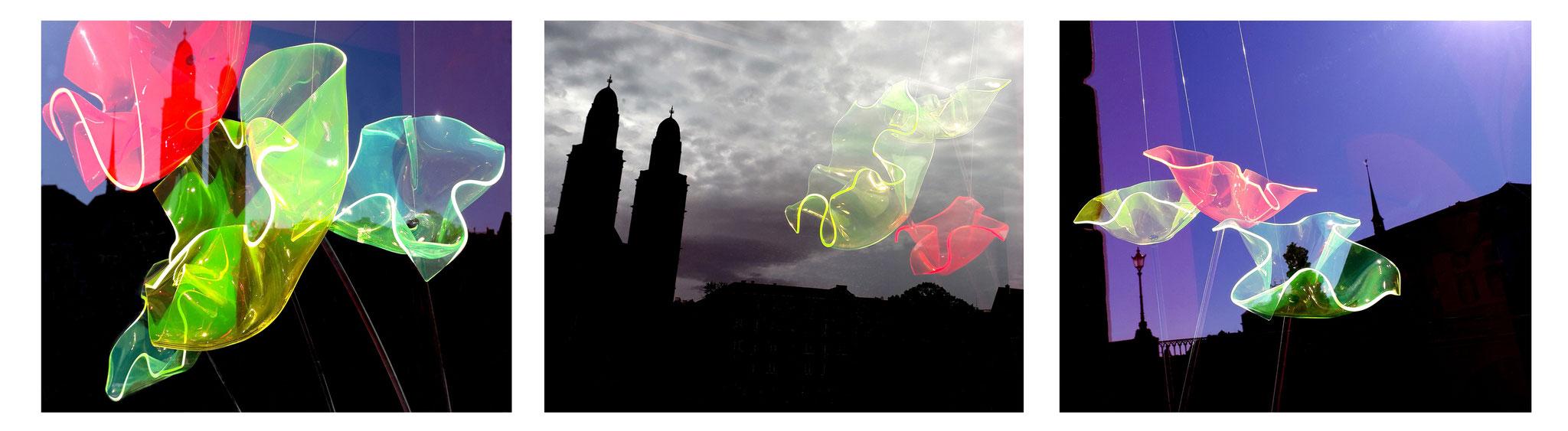 URBAN VISIONS - Code 1-3, digitaler Fotoprint auf HahnemühleBütten Photo Rag 188, 2019, hxb 50 x 60 cm