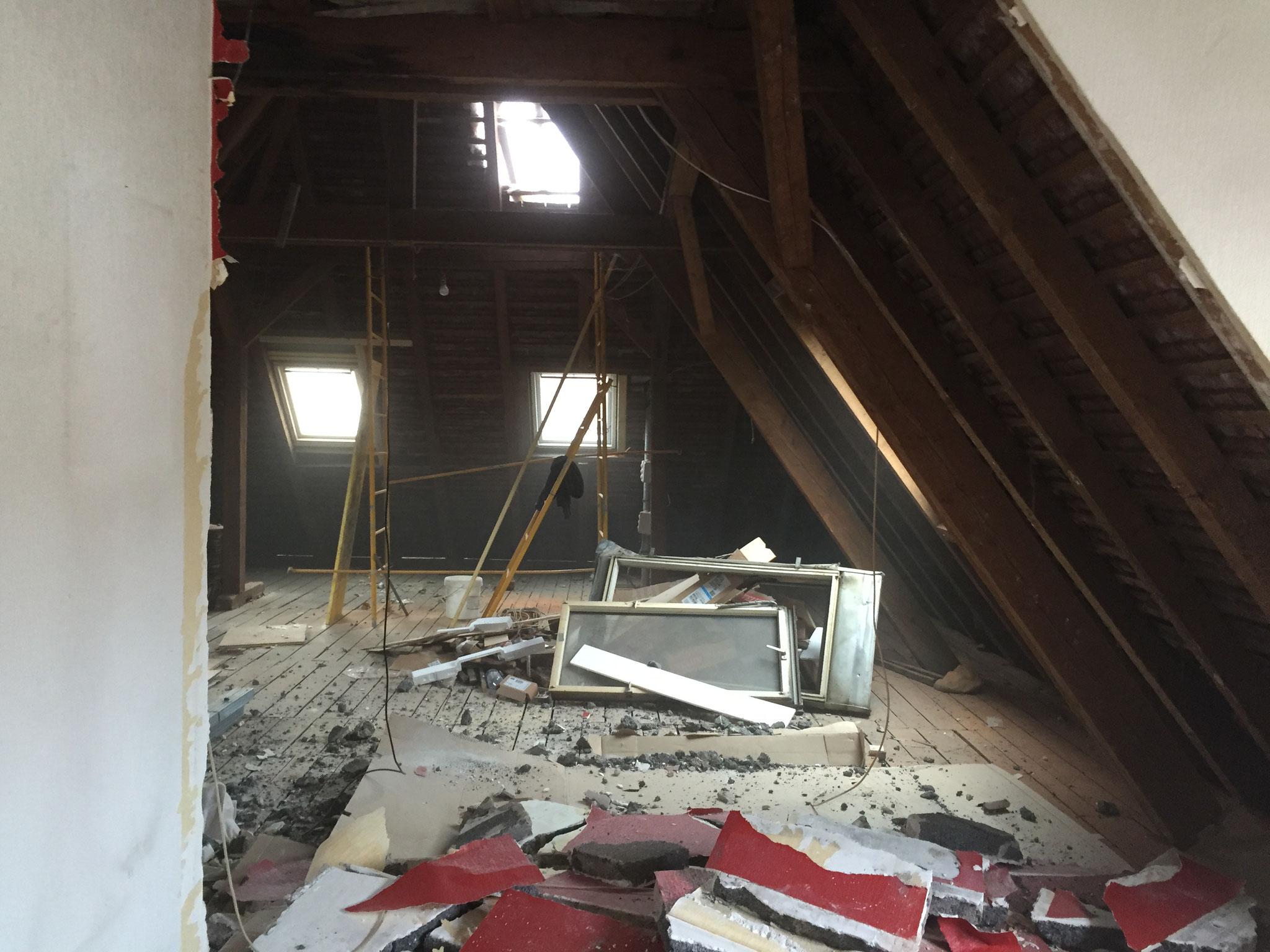 Démolition et évacuation de gravois Activ Renovation Lauterbourg 67