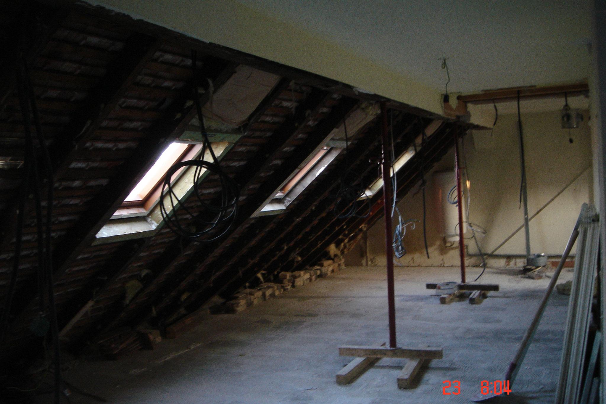 comble: Avant travaux Strasbourg 67 Activ Renovation