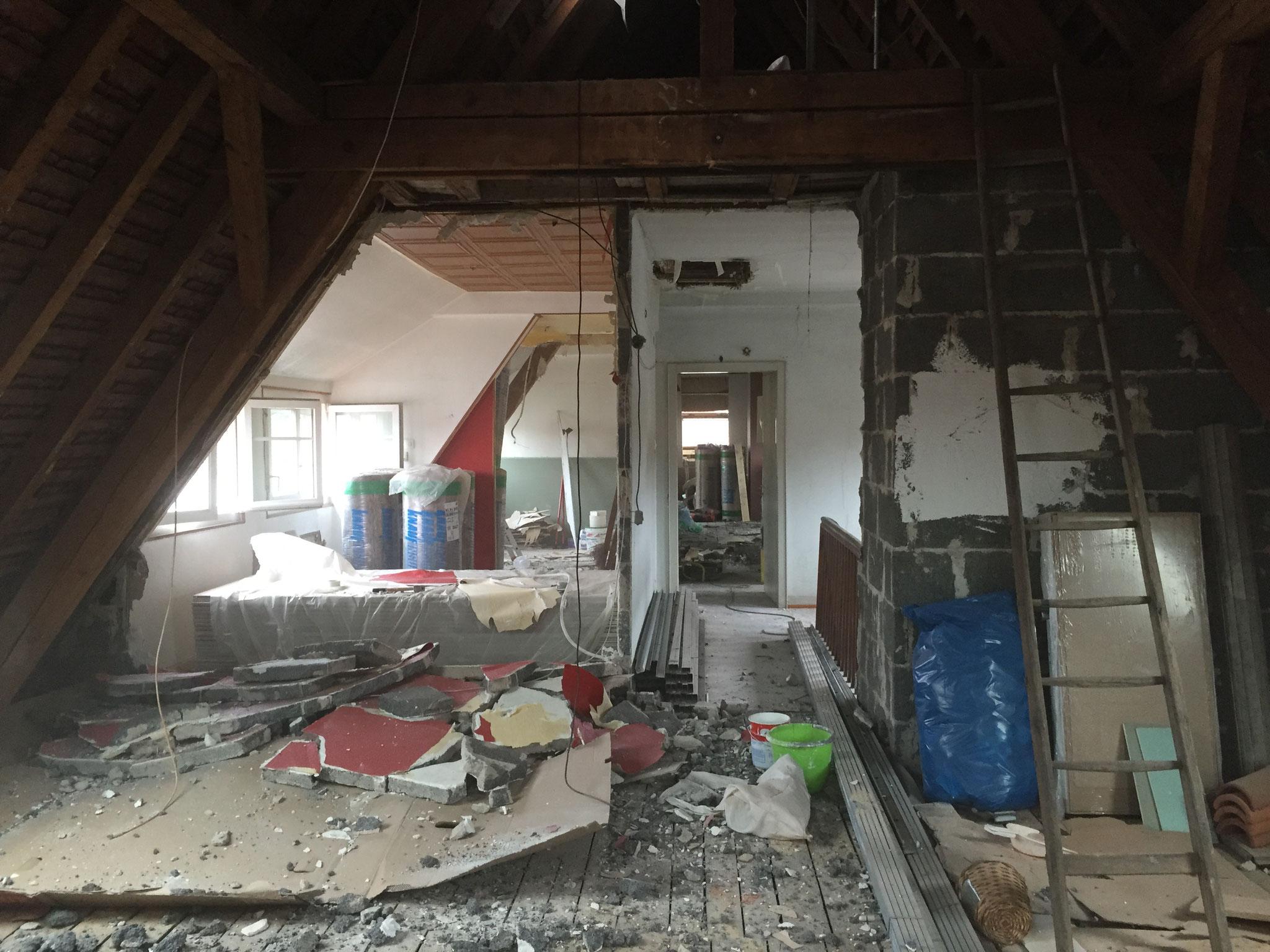 Démolition et préparation chantier rénovation