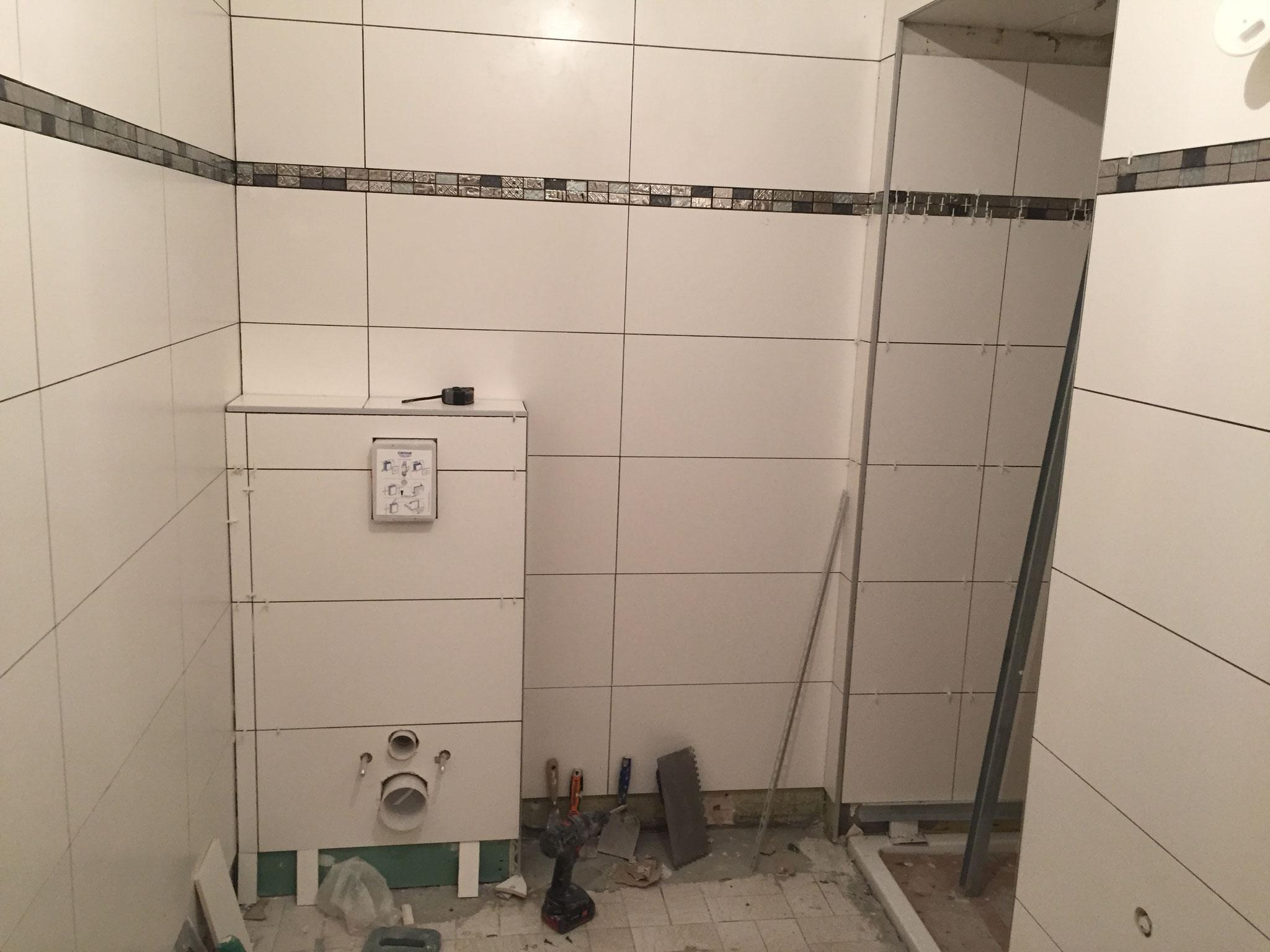 Habillage WC suspendu Activ Renovation Strasbourg 67