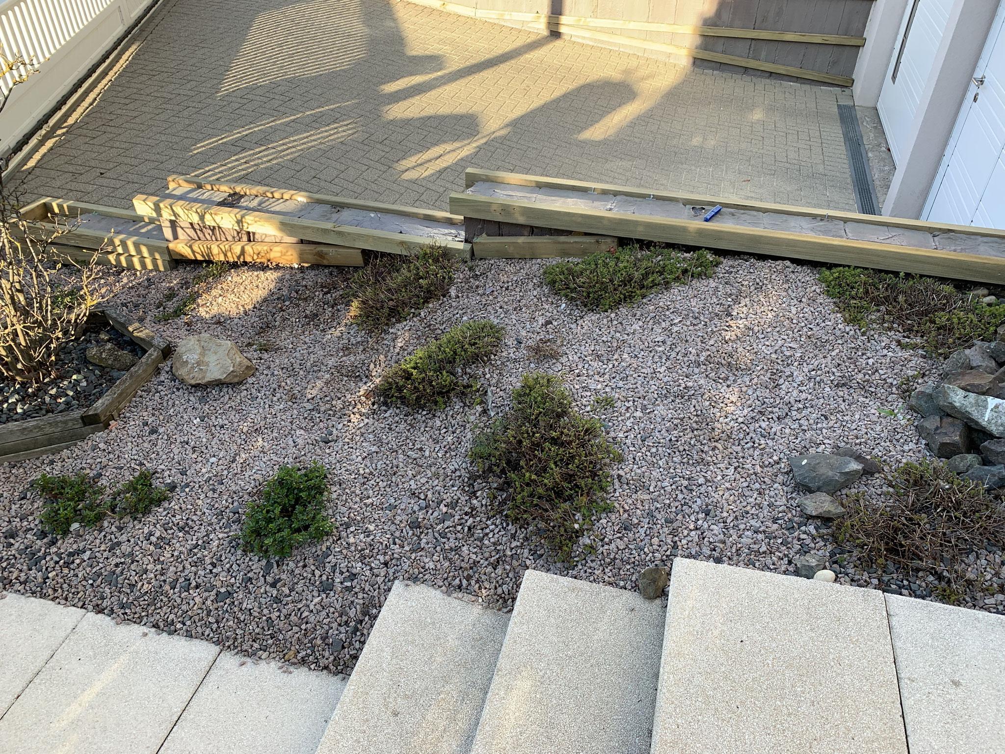 vissage des lames de terrasse en bois