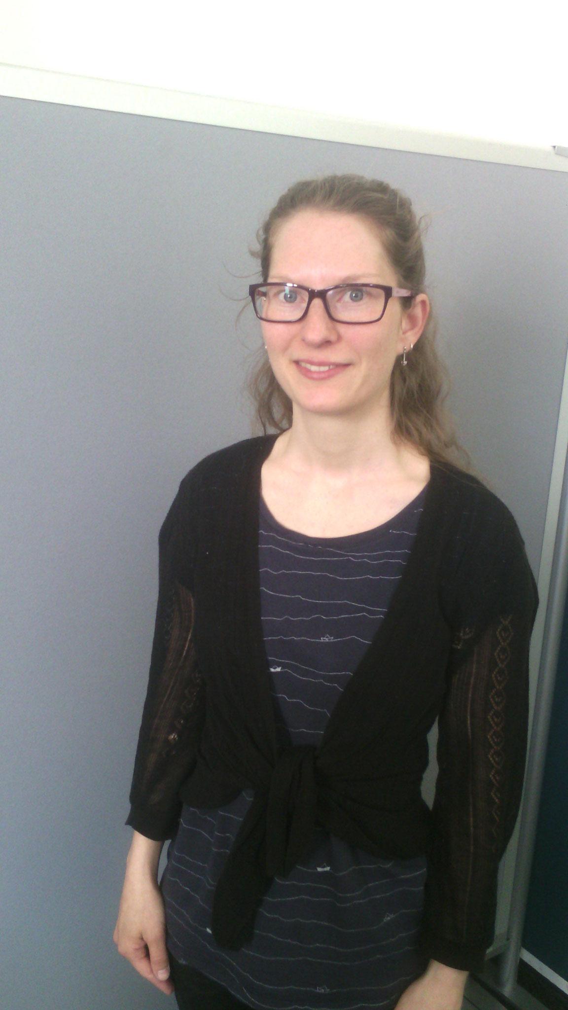 Anne Tieseler, die Minimalistin, die ihre Lebensweise mit ihrer Familie auslebt, und uns darüber informierte.