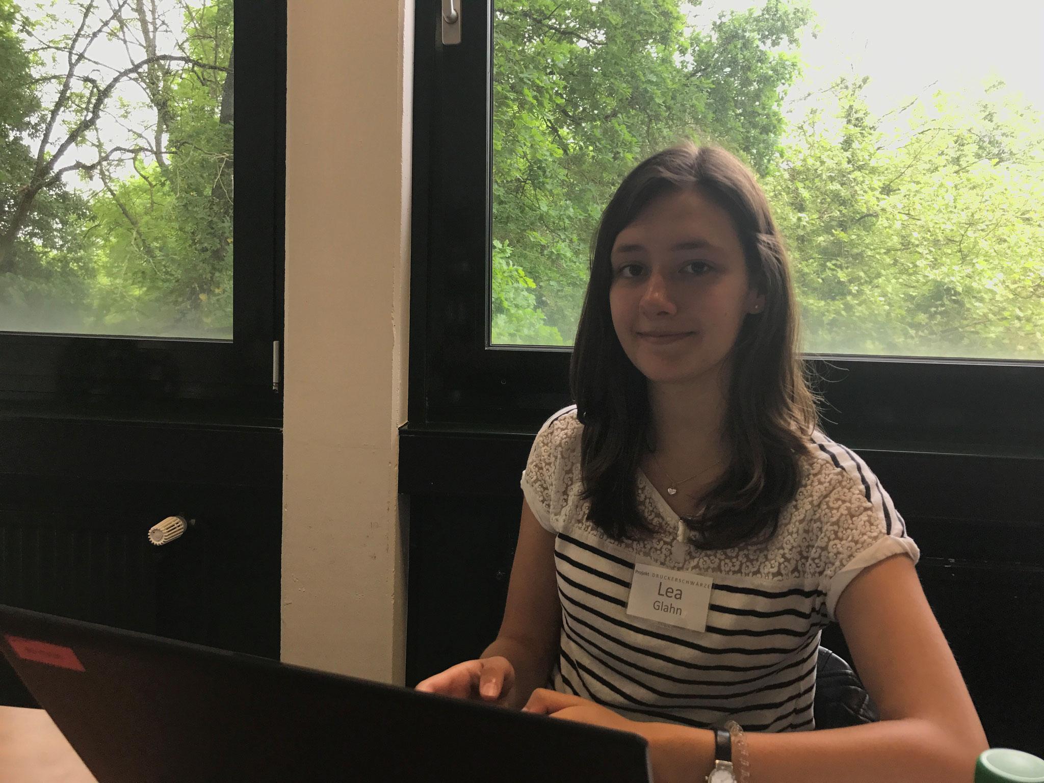 """Lea Glahn (17 Jahre): """"Nicht jede gute Unterstützung ist an Geld gebunden"""""""