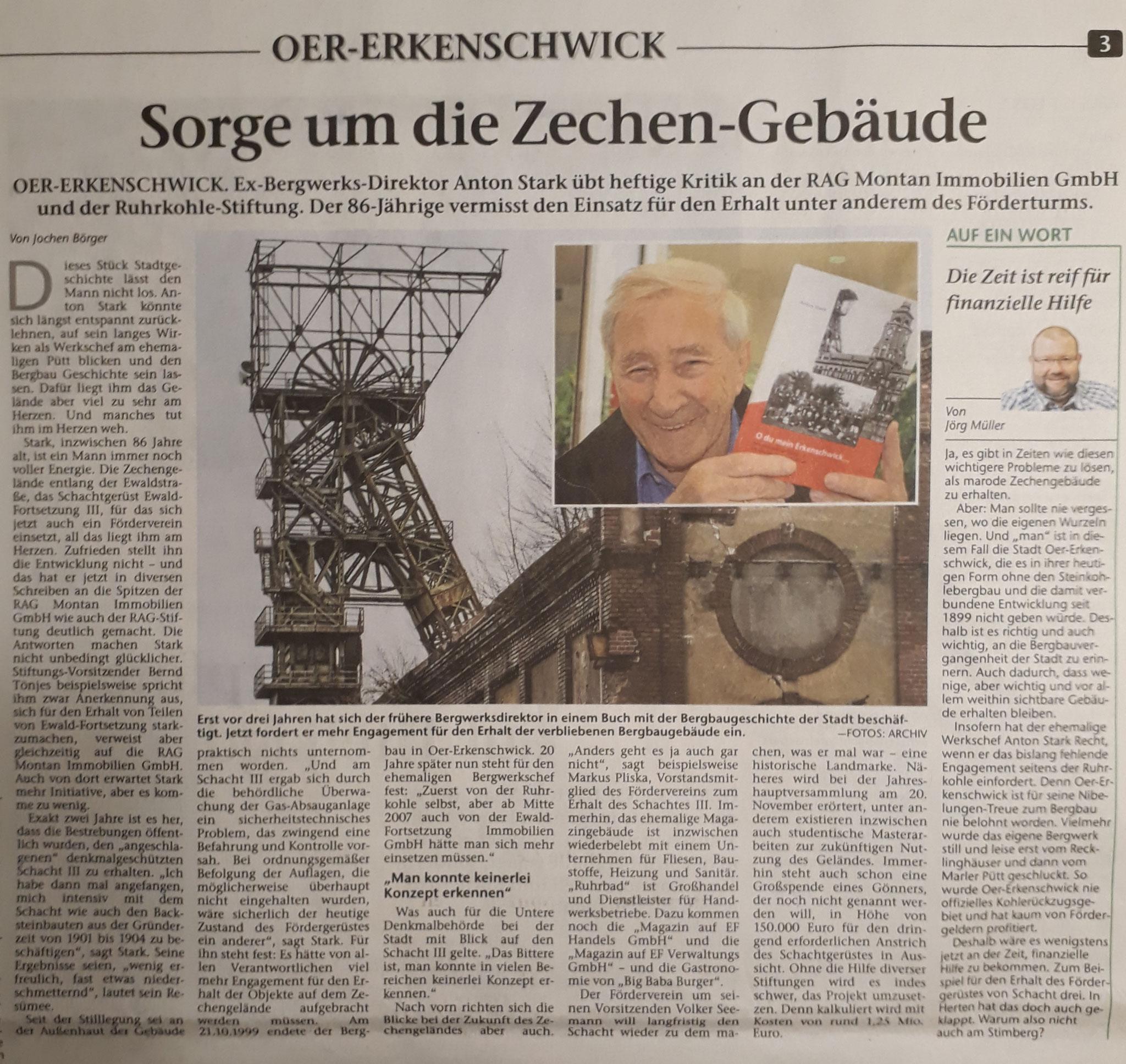 Stimberg Zeitung 4.11.2019