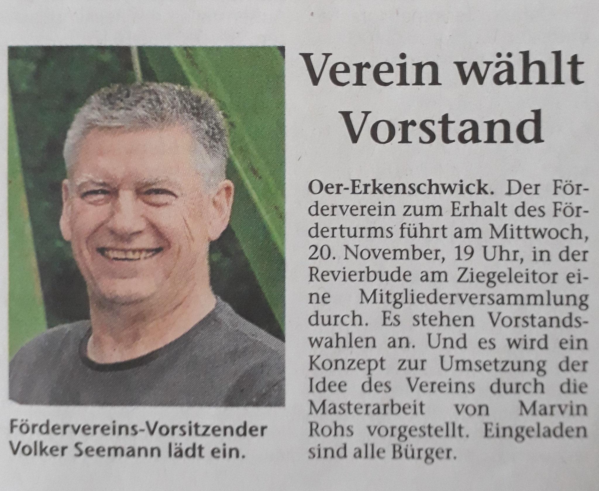Stimberg Zeitung 15.11.2019
