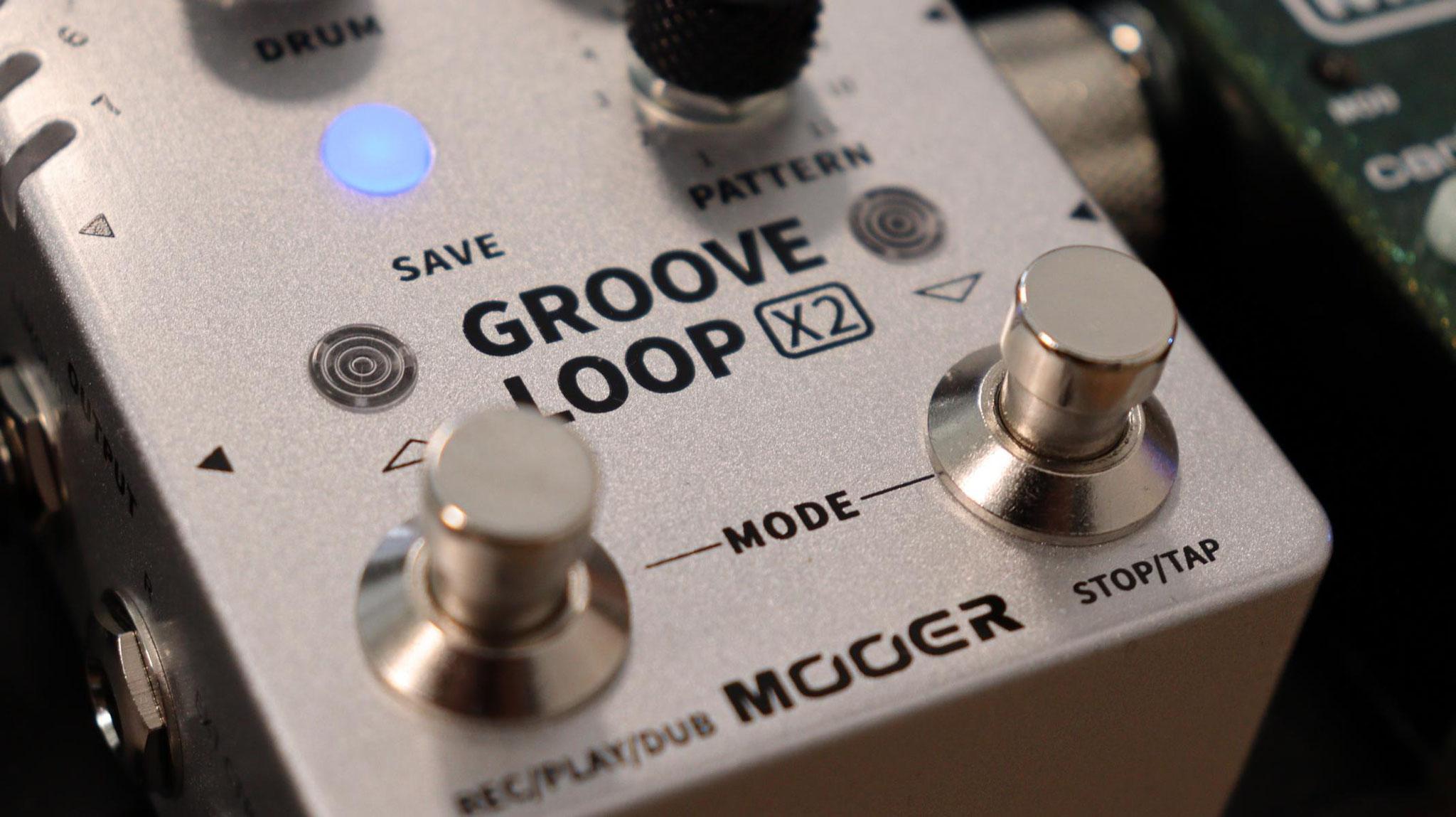 Mooer Groove Loop X2 - Stereo Lopper & Drum Machine