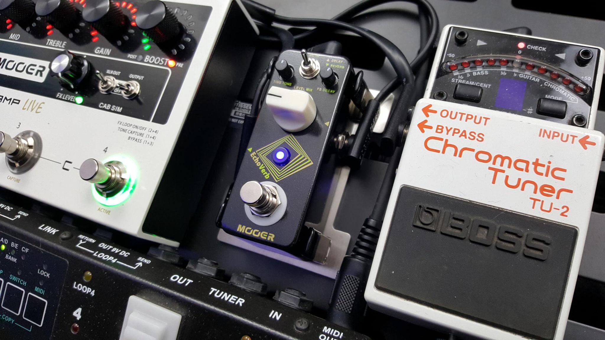 stomptrap - Gitarren-Effektgeräte Halter
