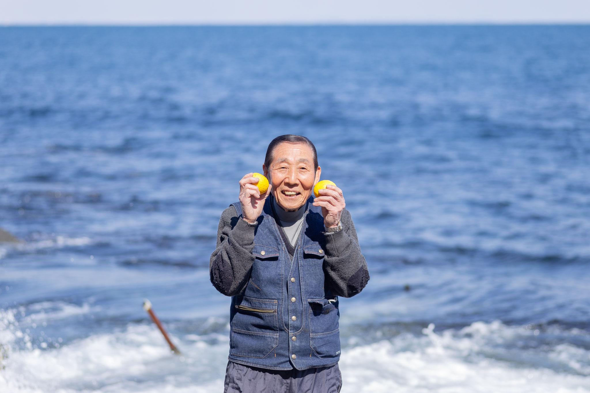 大浜照夫 (石橋支部):幻の柑橘、ゴールデンオレンジ栽培してます!