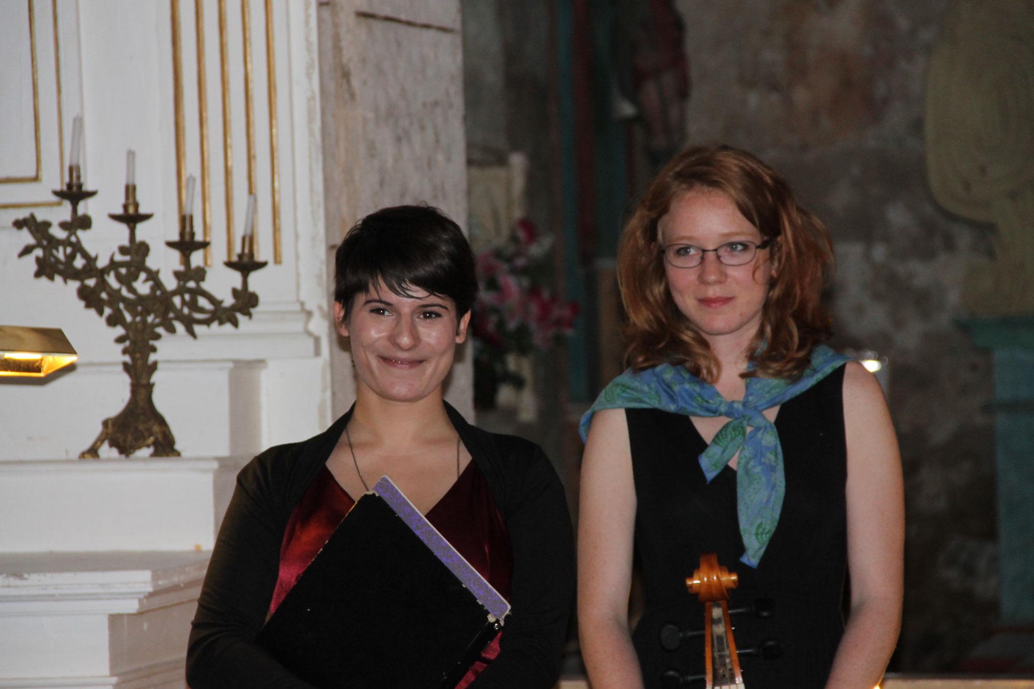 Axelle Verner et Barbara Hünninger