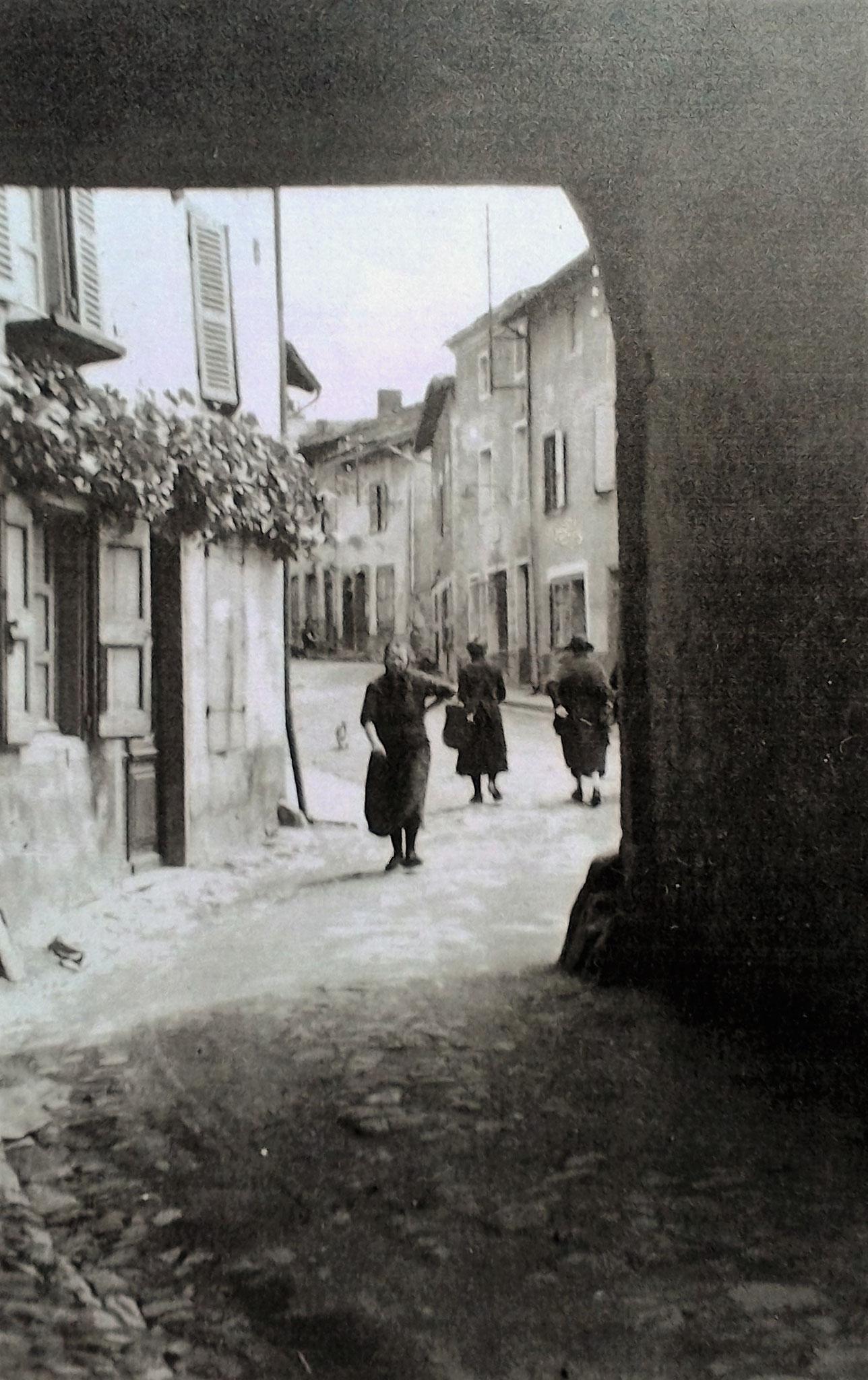 Porte du Gort et ancienne place du marché