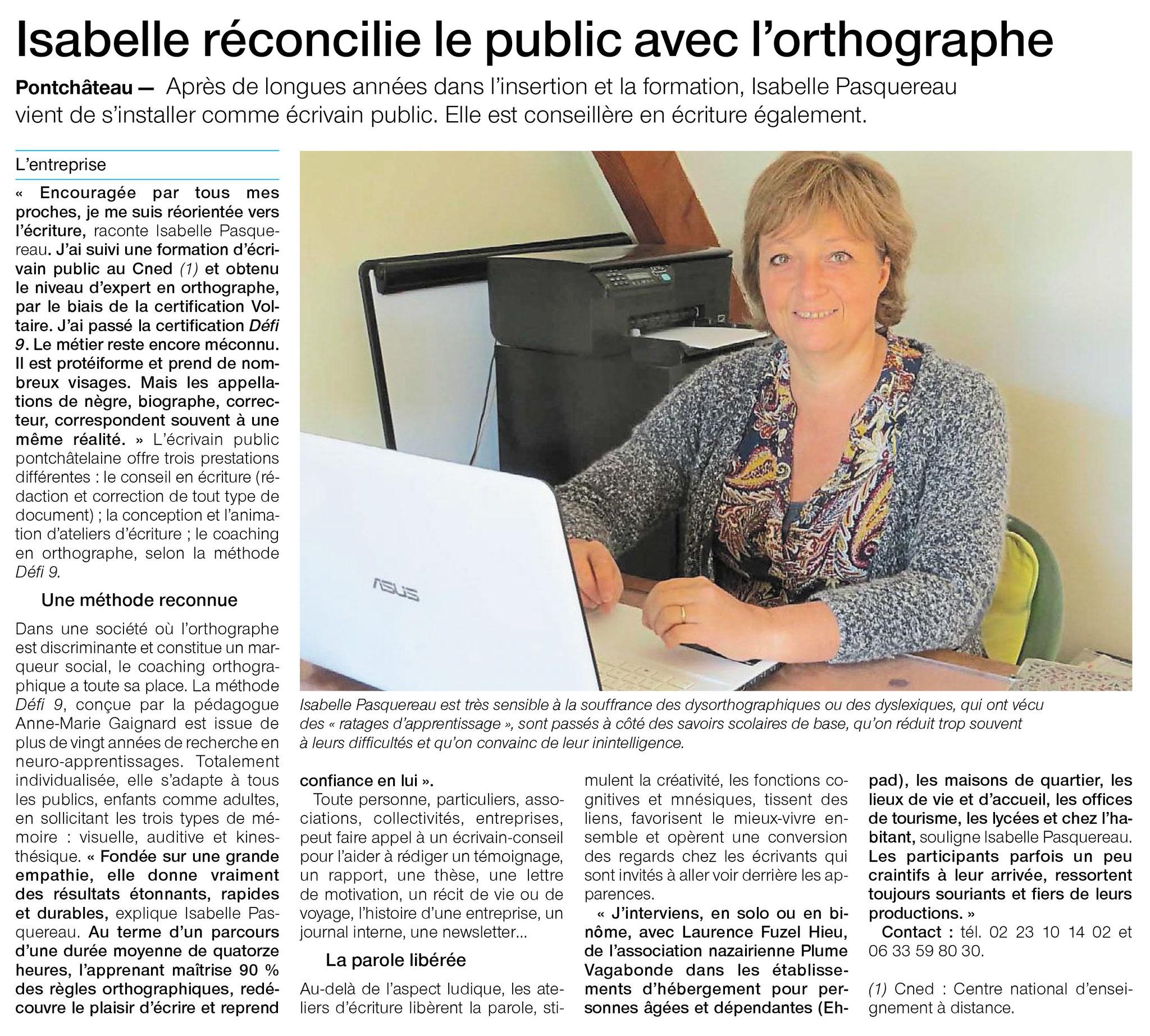 Isabelle Pasquereau réconcilie tout le monde avec l'orthographe !