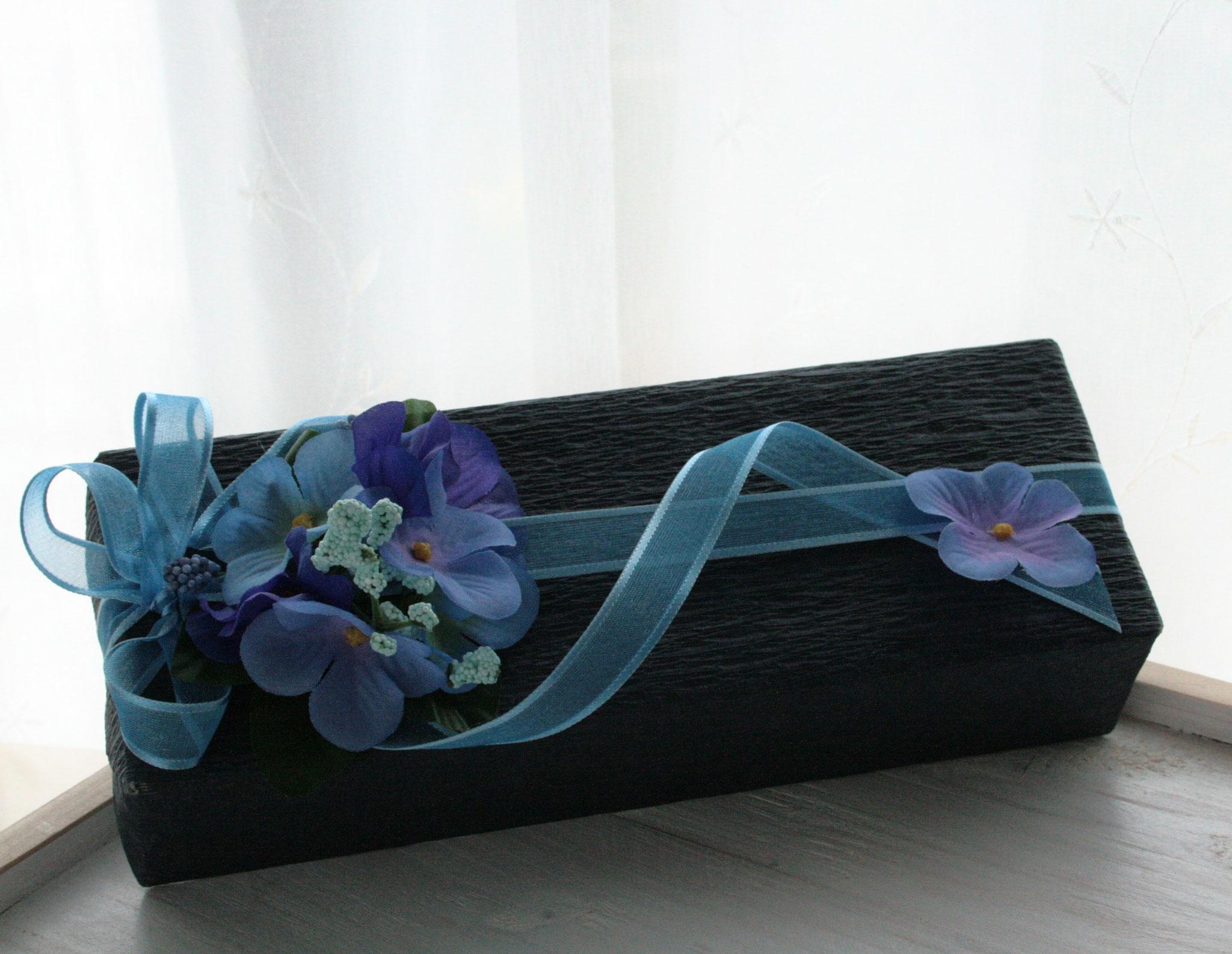 紫陽花のラッピング
