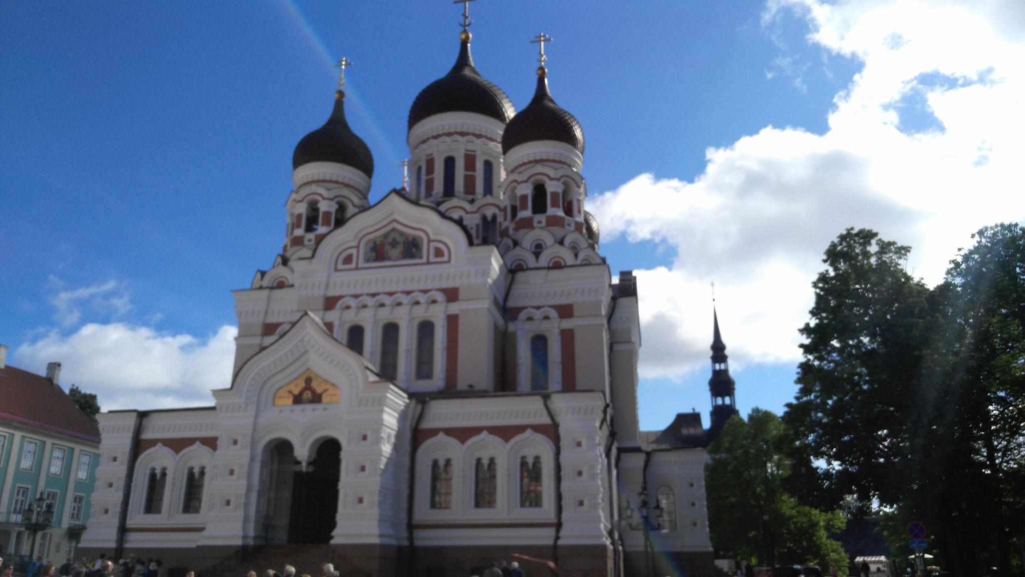 Cathédrale Saint Alexandre Nevsky - Tallinn (Estonie)