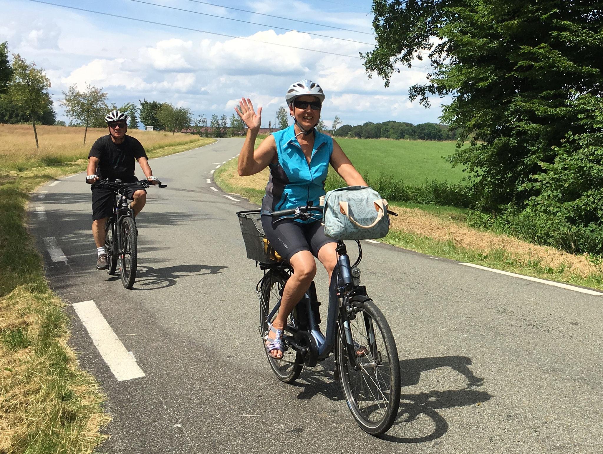 21 juin 2018 rando vélo à Dannemarie