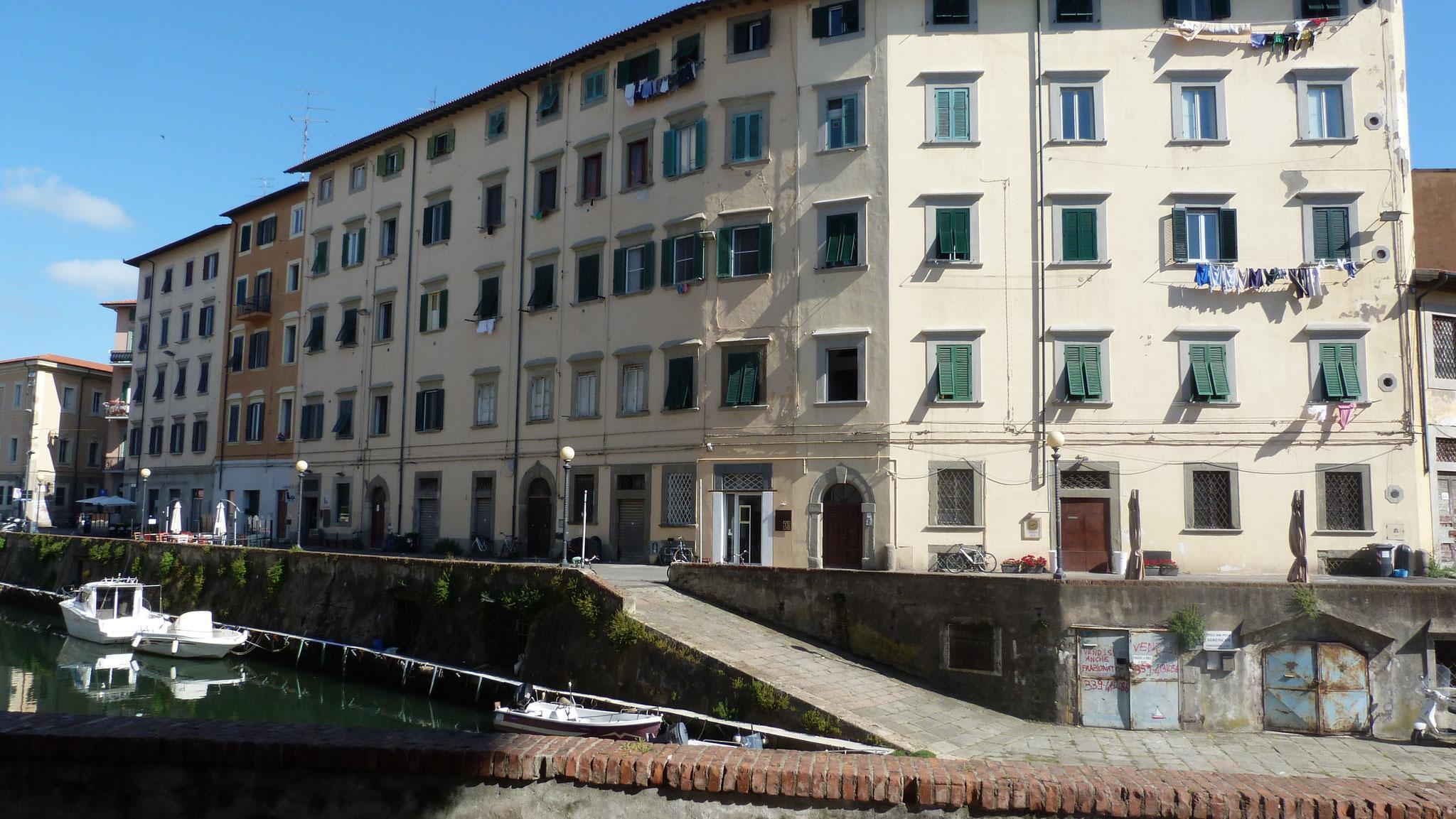Klein Venedig in Livorno