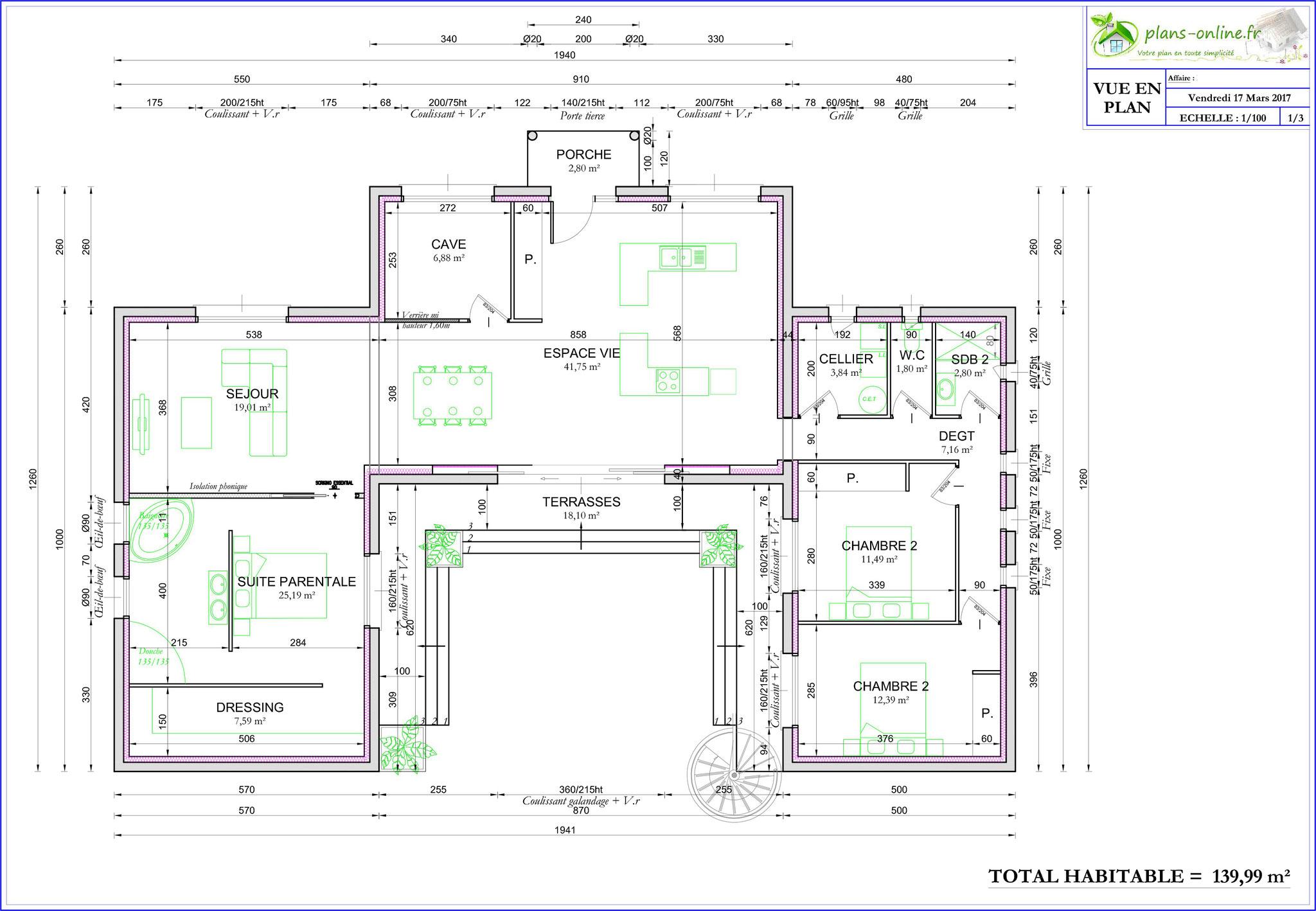 plans online r alisation de permis de construire. Black Bedroom Furniture Sets. Home Design Ideas