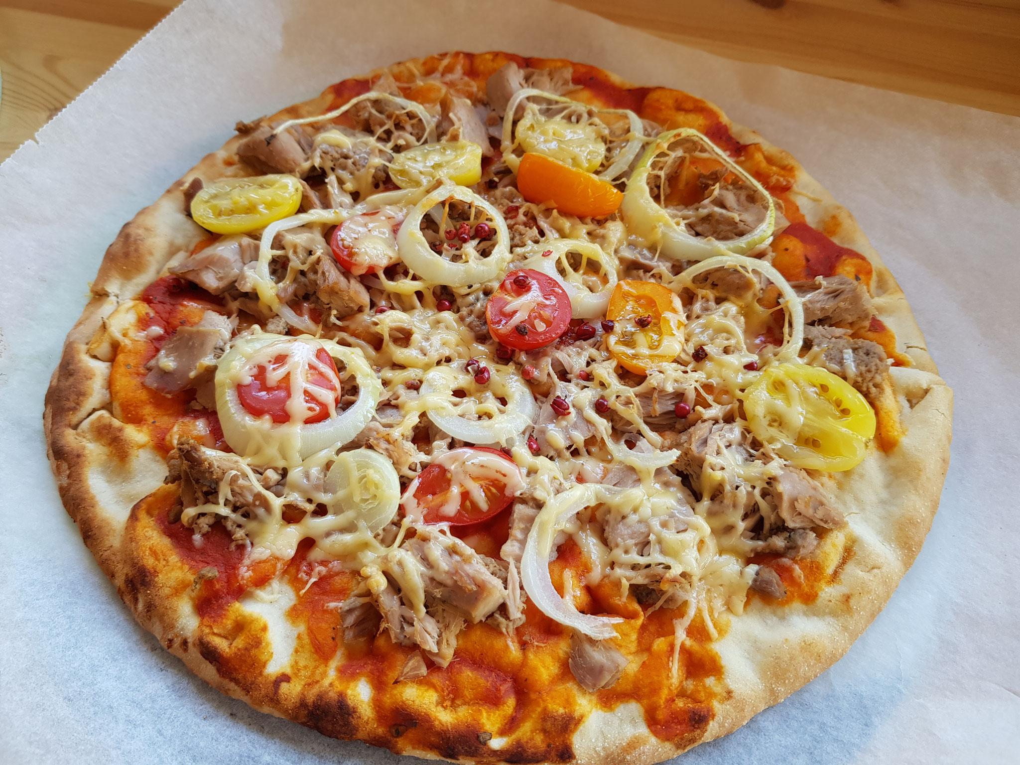 Tonijn pizza