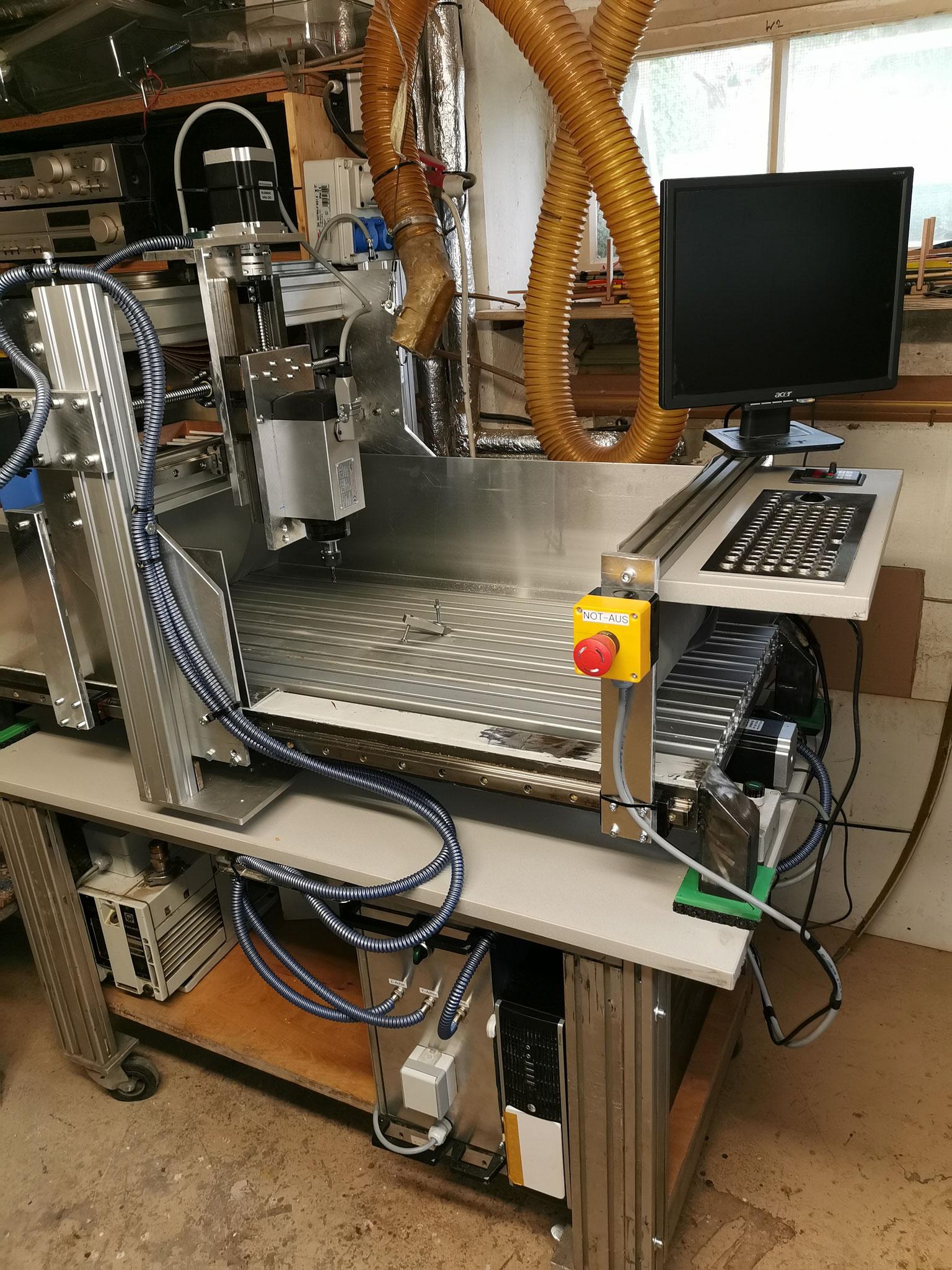 Eigenbau CNC Fräse