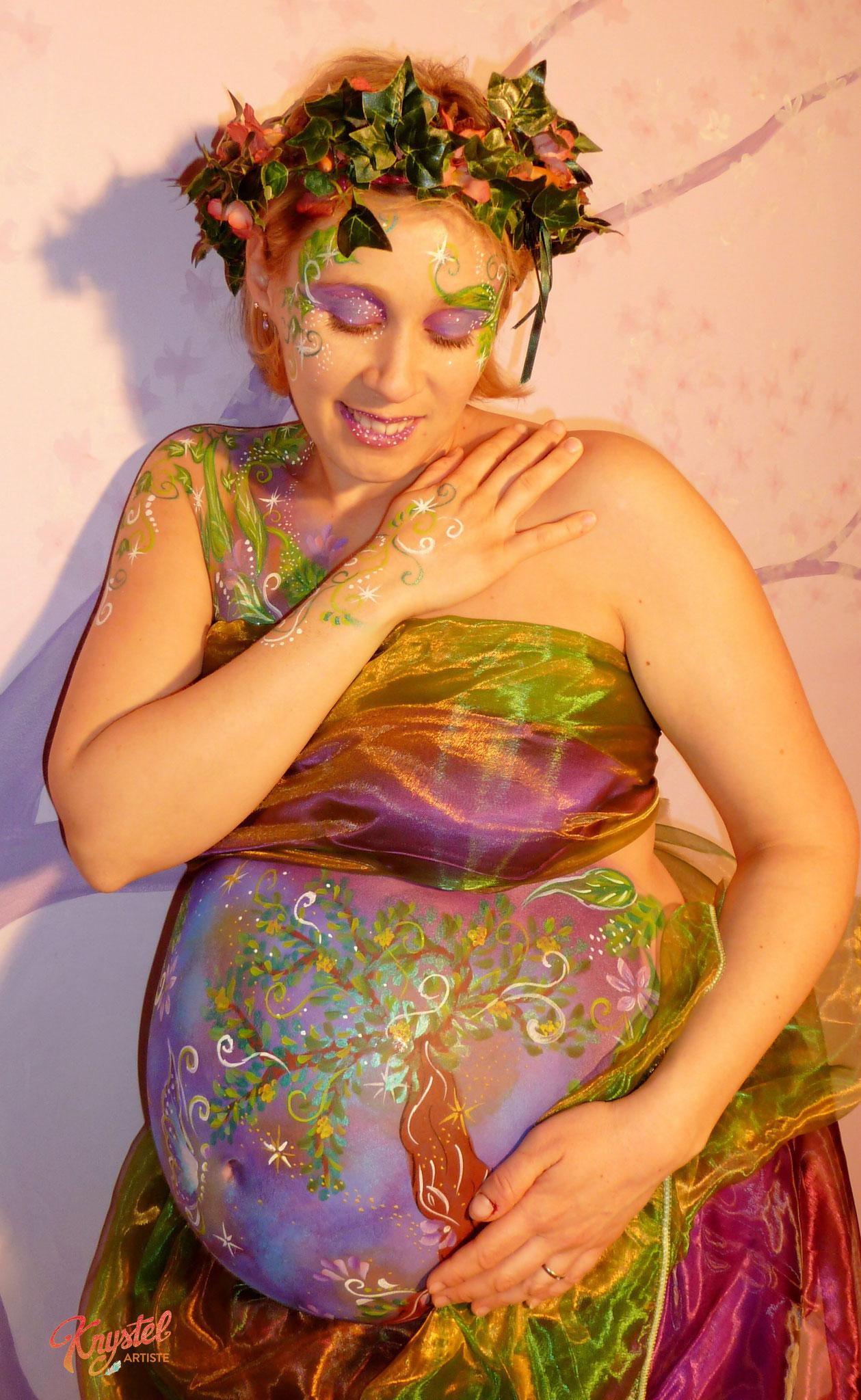 séance art prénatal, normandie