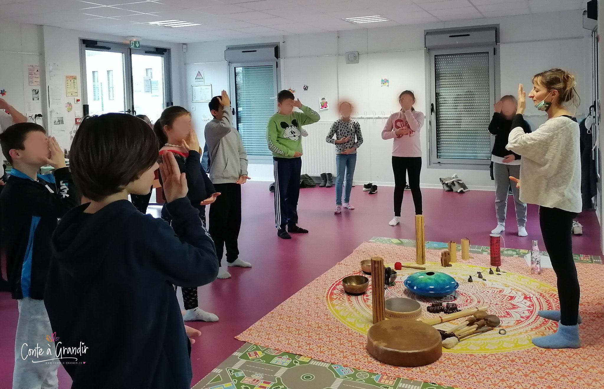 méditation, qi gong, enfant, vendée