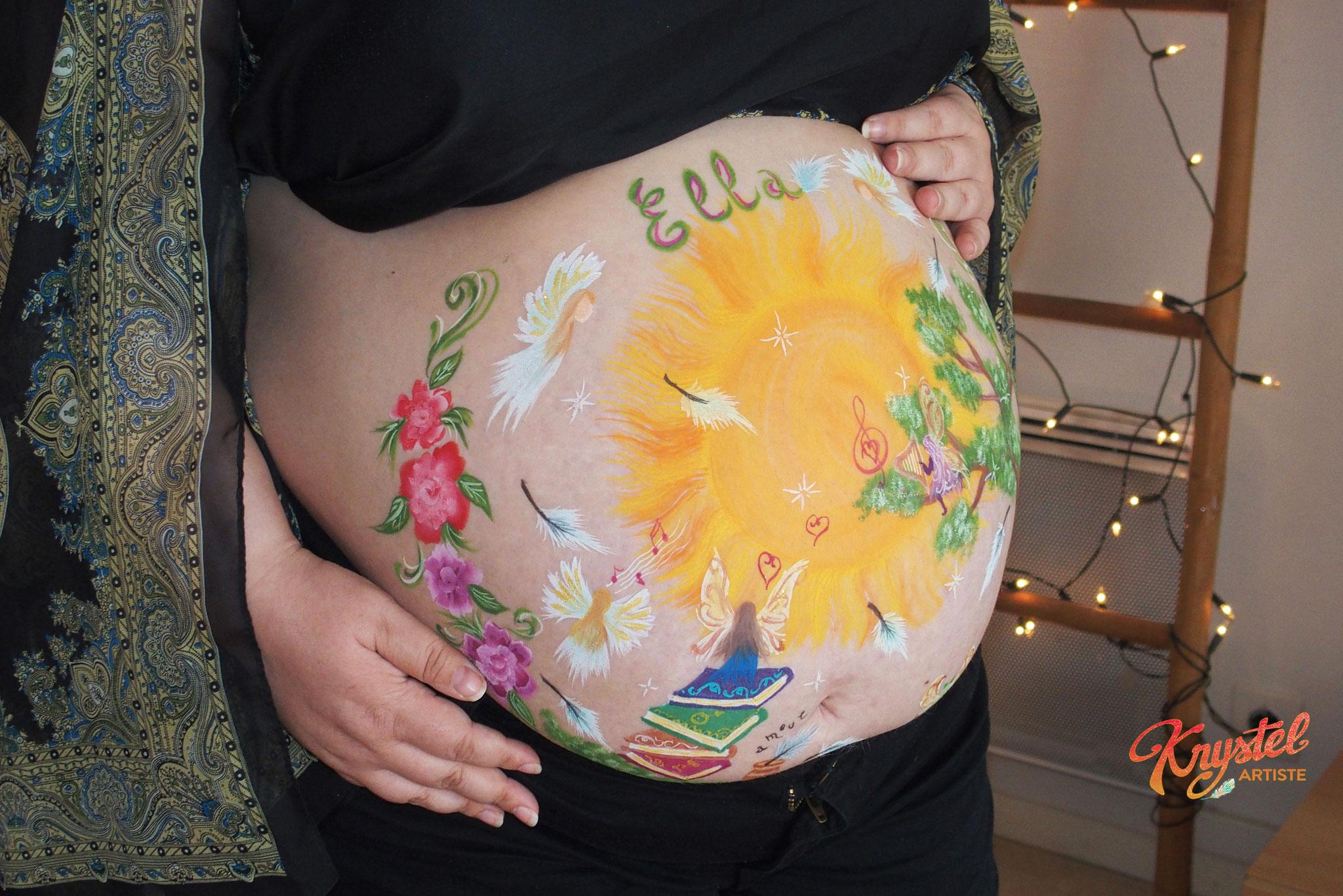 séance naitre à toi, grossesse