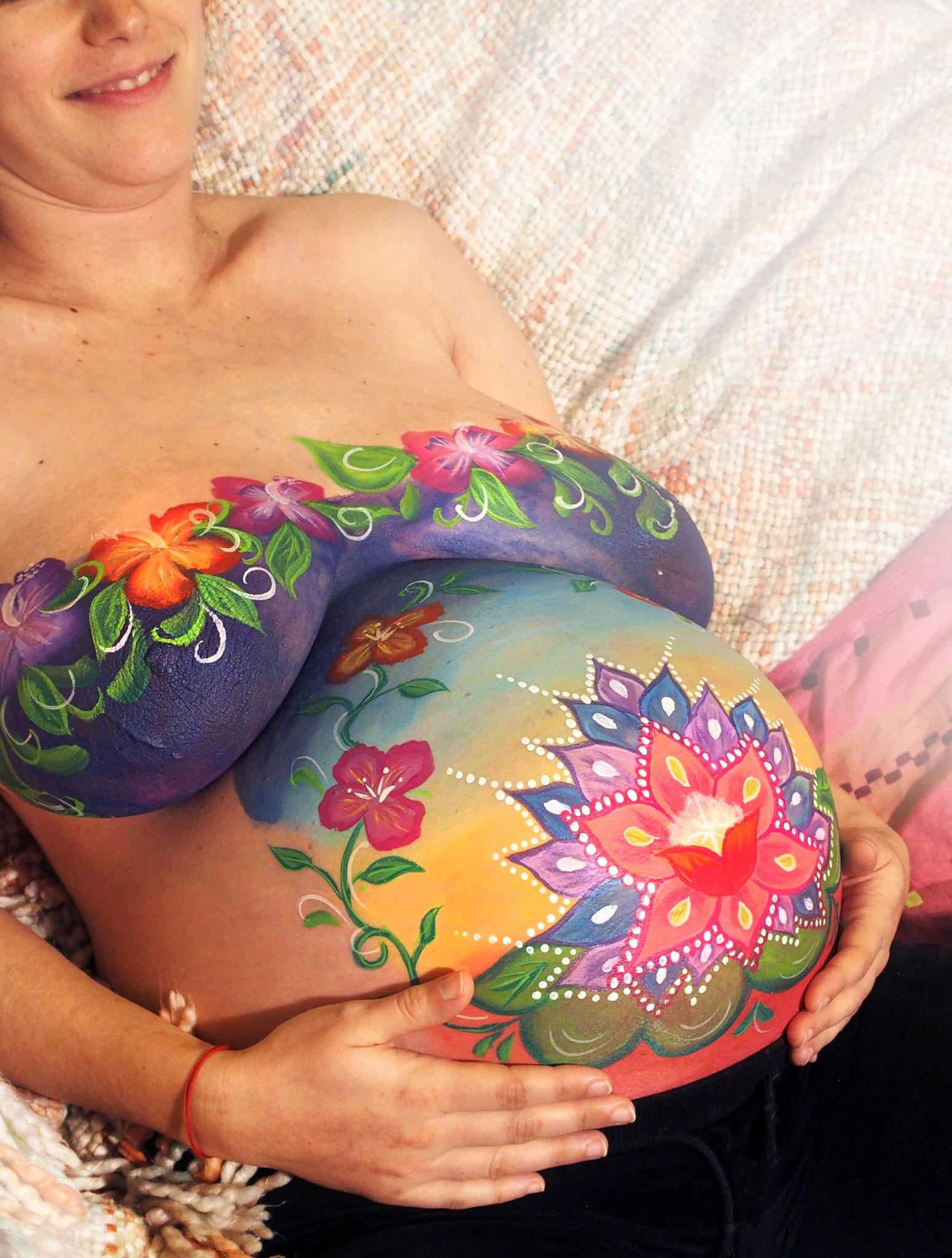 séance art prénatal, nantes