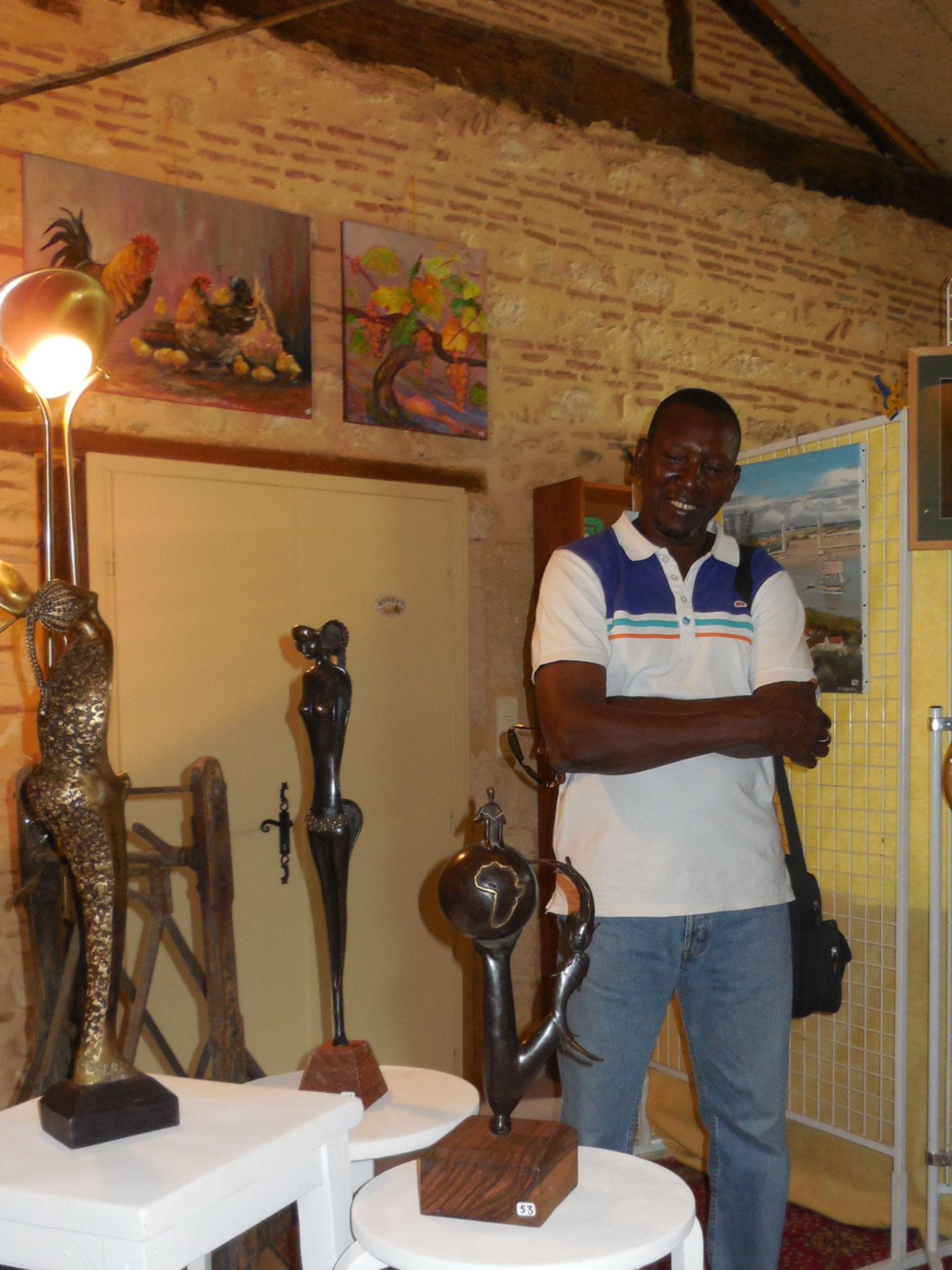 2015 - 24 Monbazillac - SATA - Exposition au Domaine de Tirecul