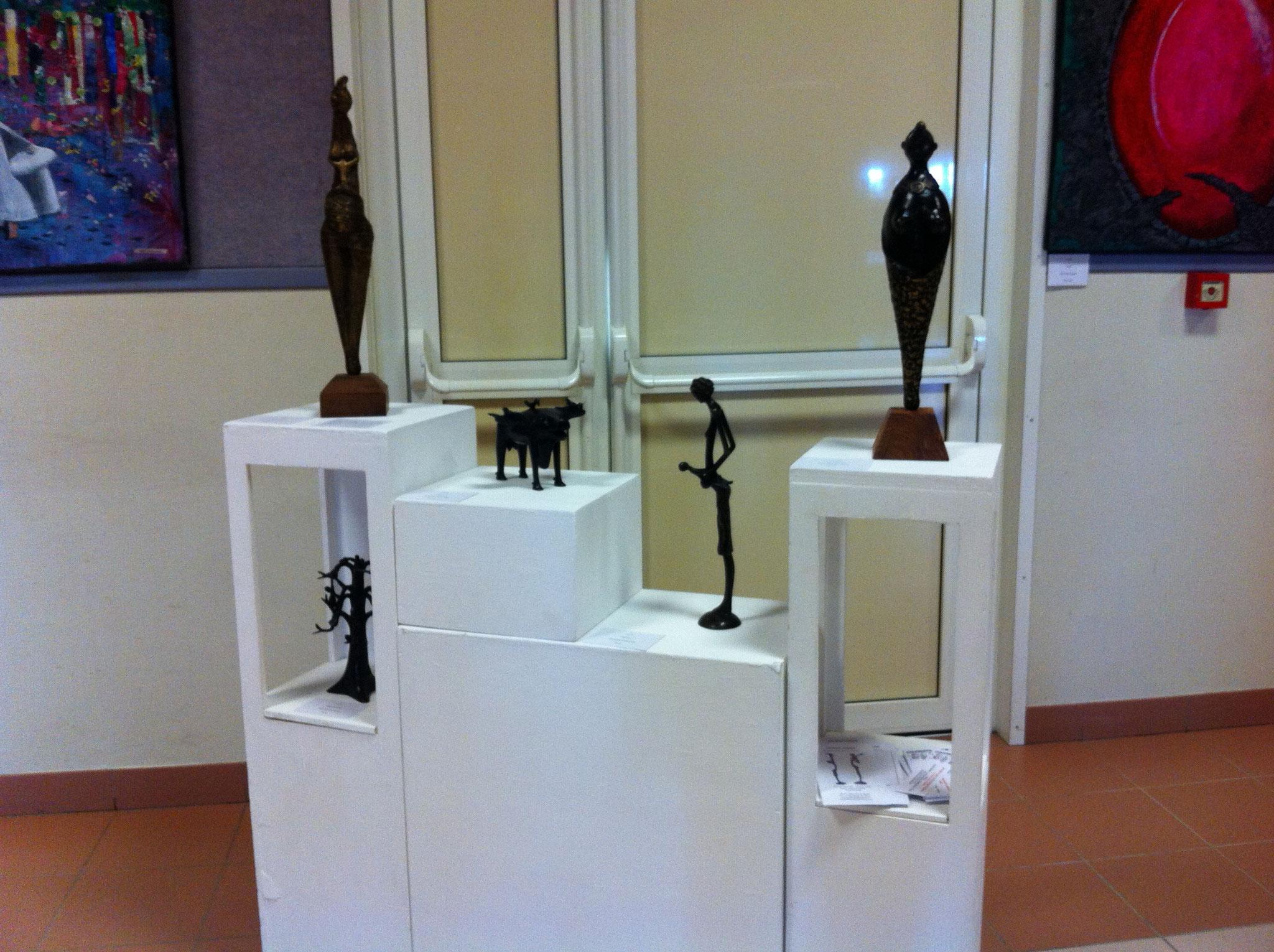 2016 - Commune de St Ciers de Canesse - Salon peinture et sculpture