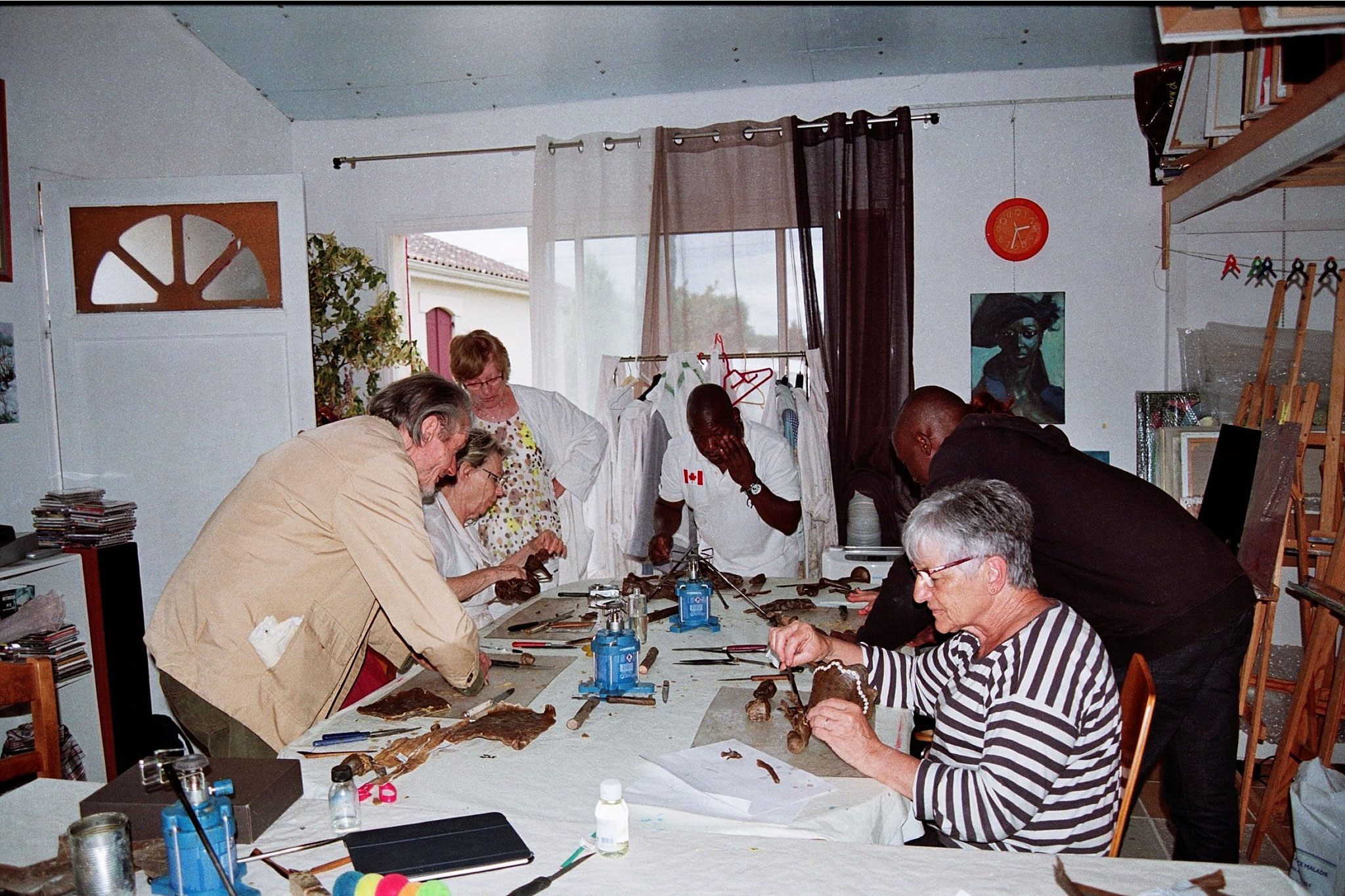 2016 - 32 St Martin - Campagn'Art - Atelier, technique du bronze à la cire perdue