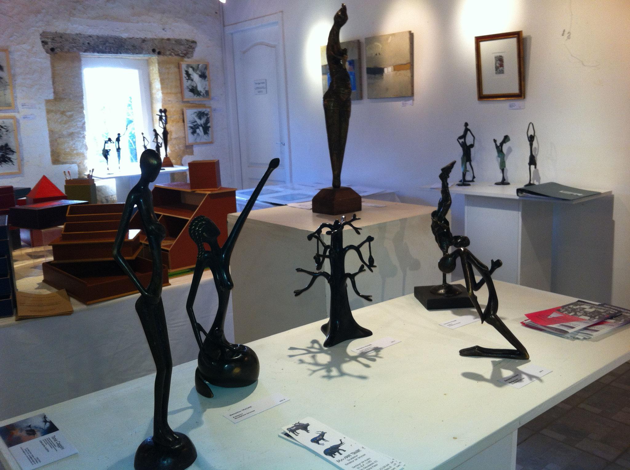 2016 - 24 Mauzac et Grd Castang - Centre d'Art contemporain - Salon des Cadeaux