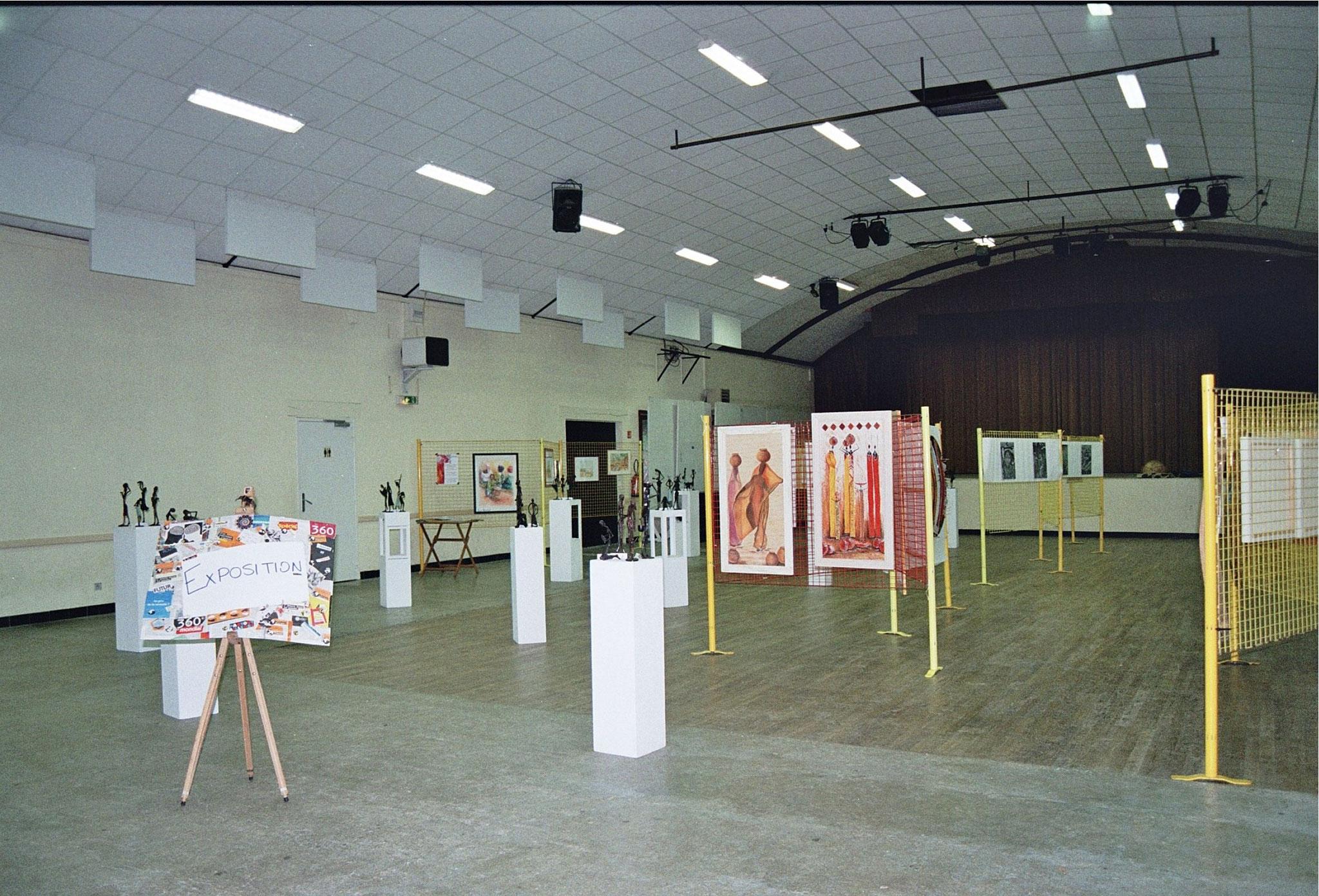 2015 - 24 Thivierrs - Sigou - Festival Rencontrer l'Afrique - Exposition avec Eric Lestandie, artiste peintre et Michel Dartenset, photographe
