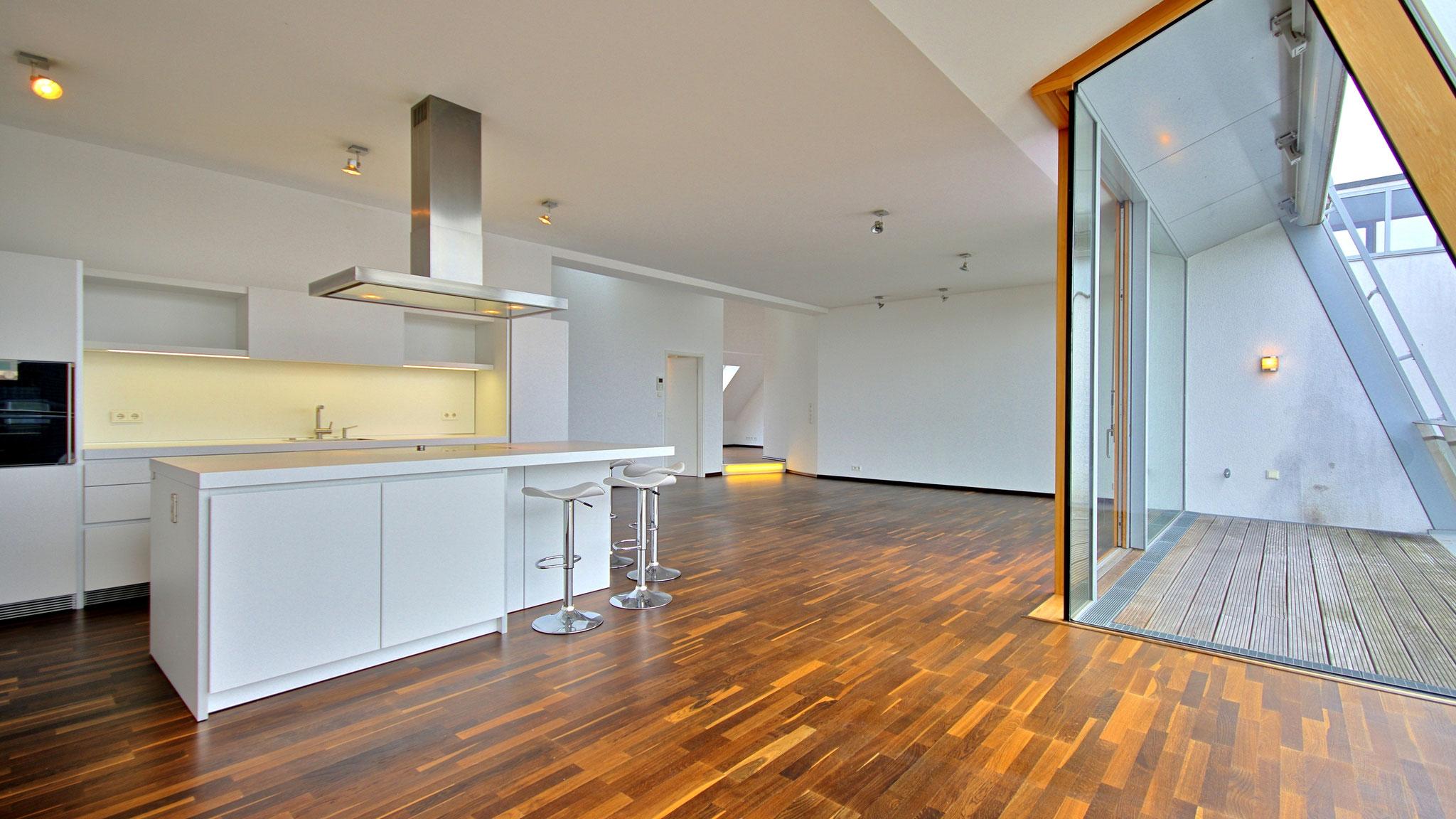 Penthouse auf Hochbunker in Köln Zollstock - verkauft innerhalb von 2 Monaten