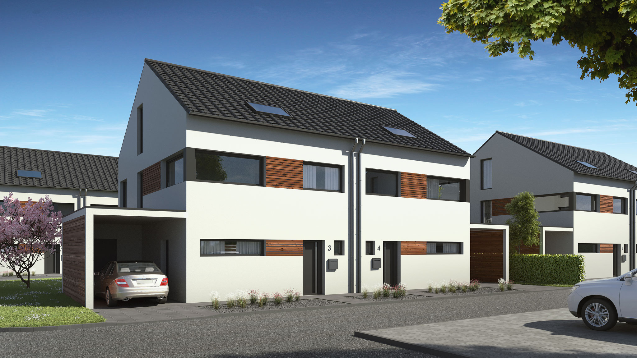 Neubauprojekt in München Allach, Neubau von 10 Einfamilienhäusern