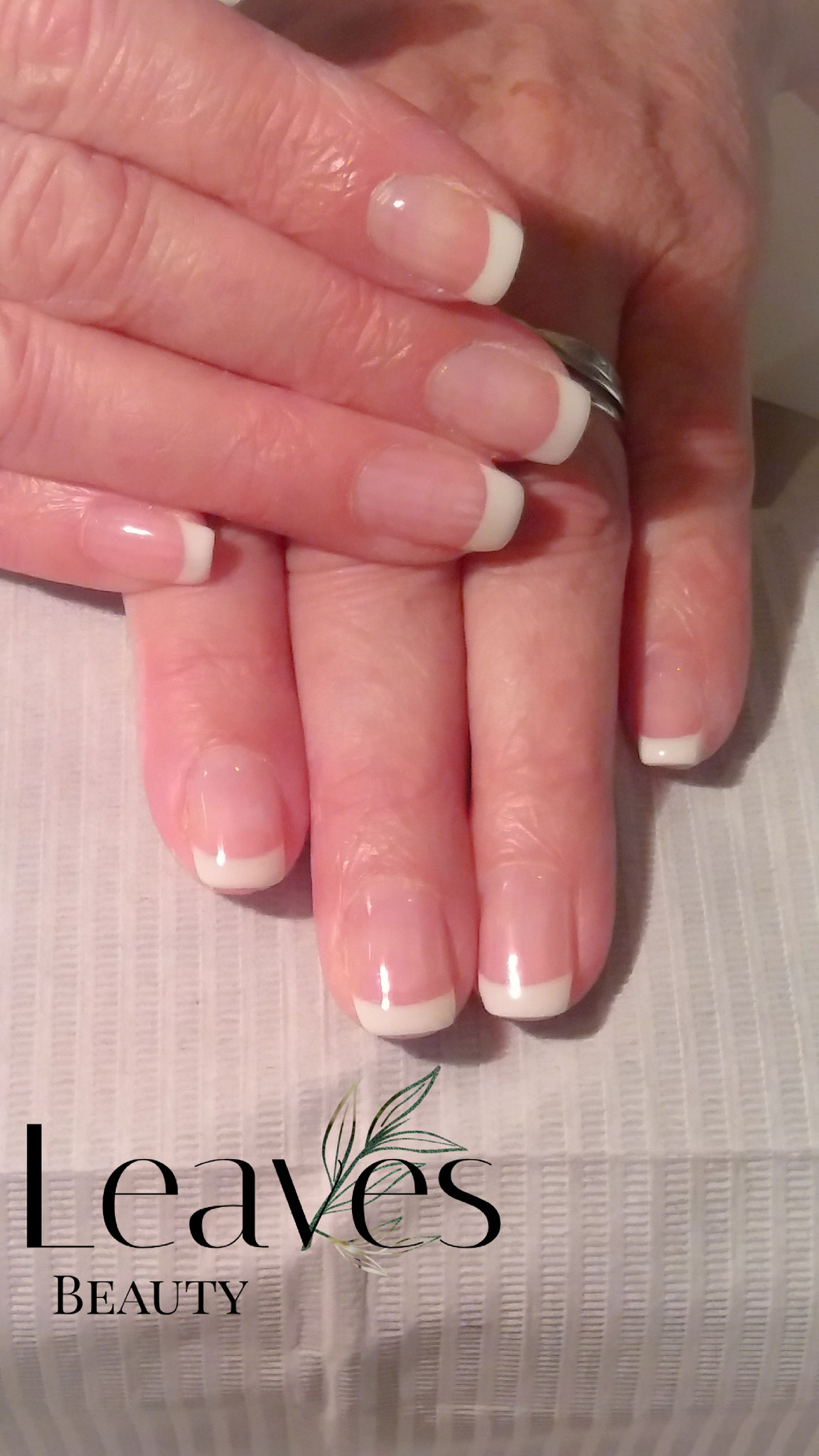 French manicure met gellak