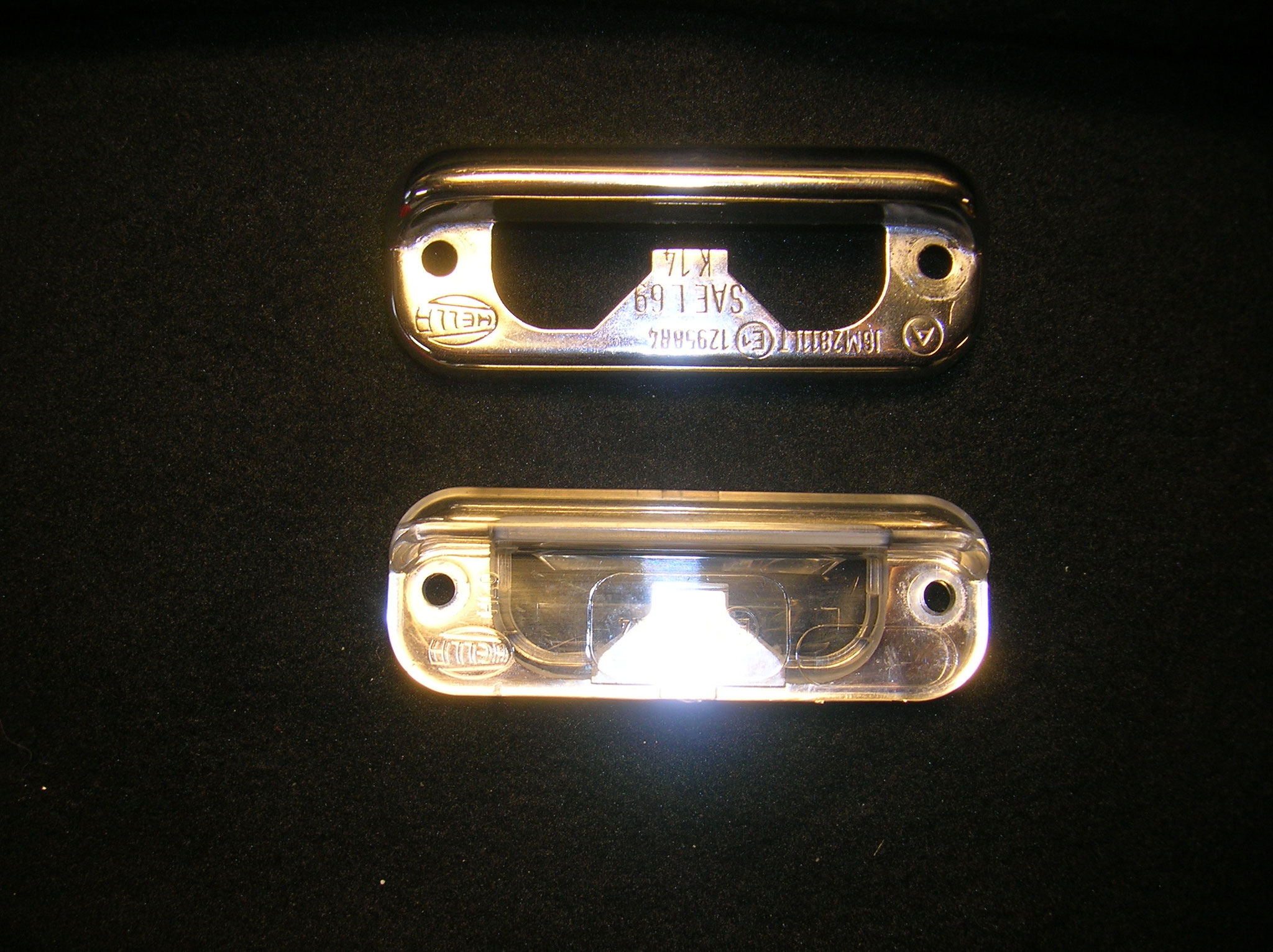 licvenseplate lights