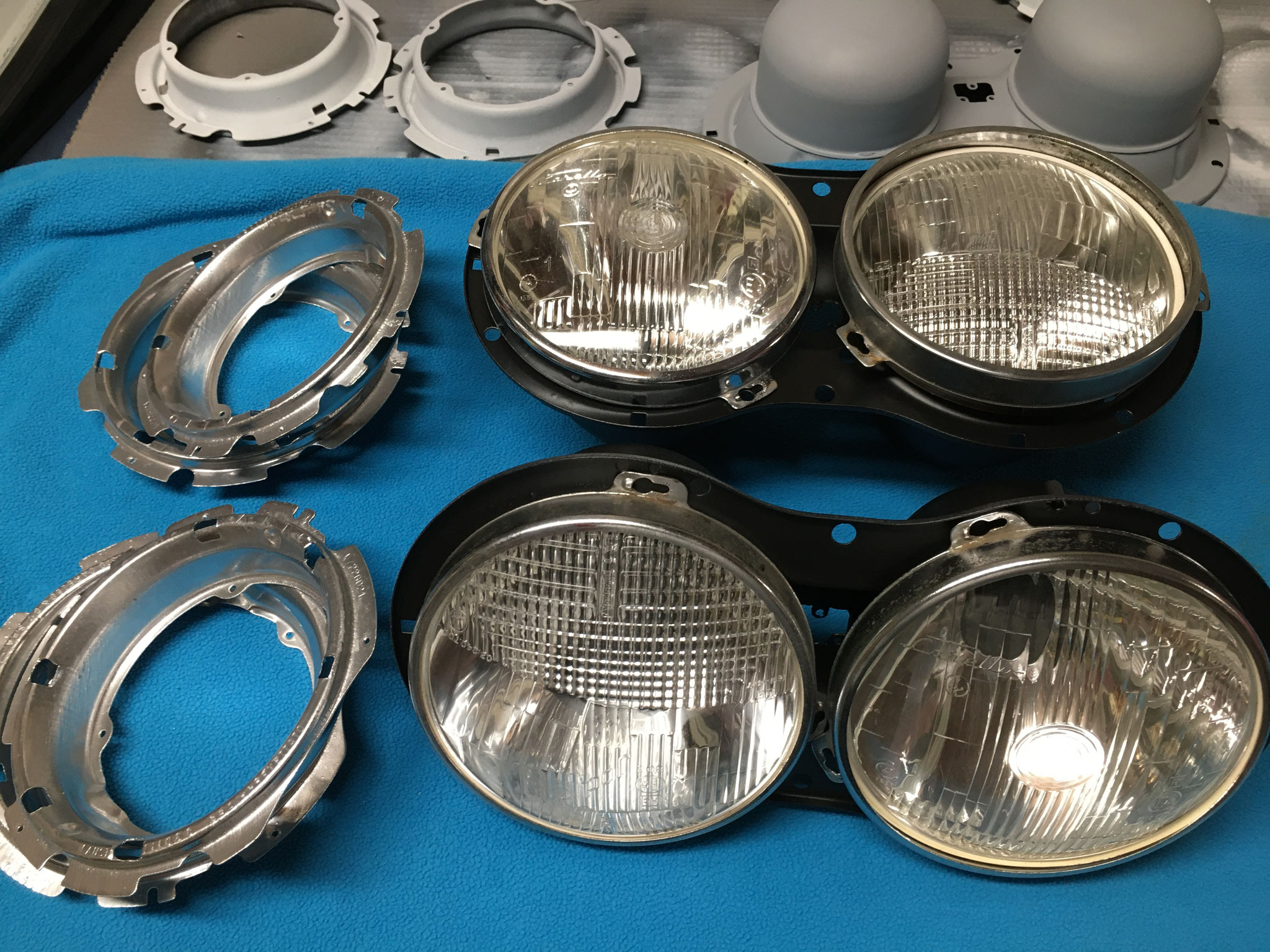 headlightsets complete