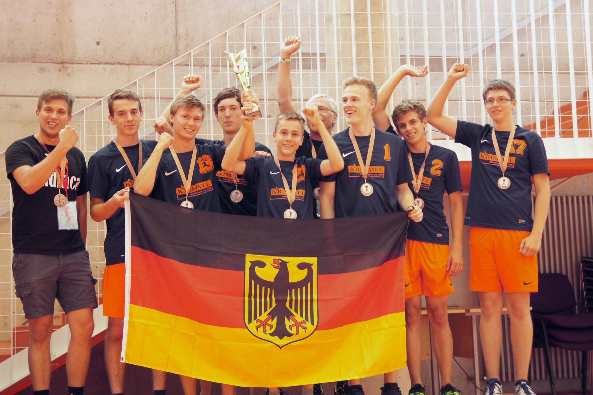 Auch unsere Junioren landen auf Rang 3