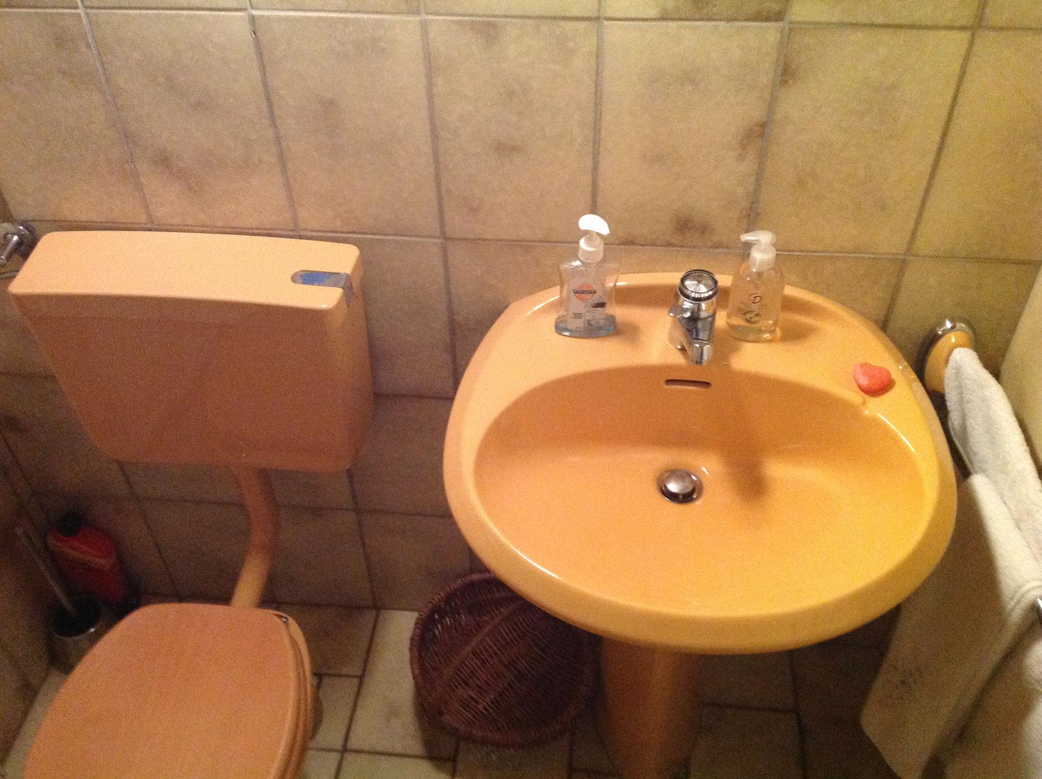 Gäste WC  - vor der Sanierung