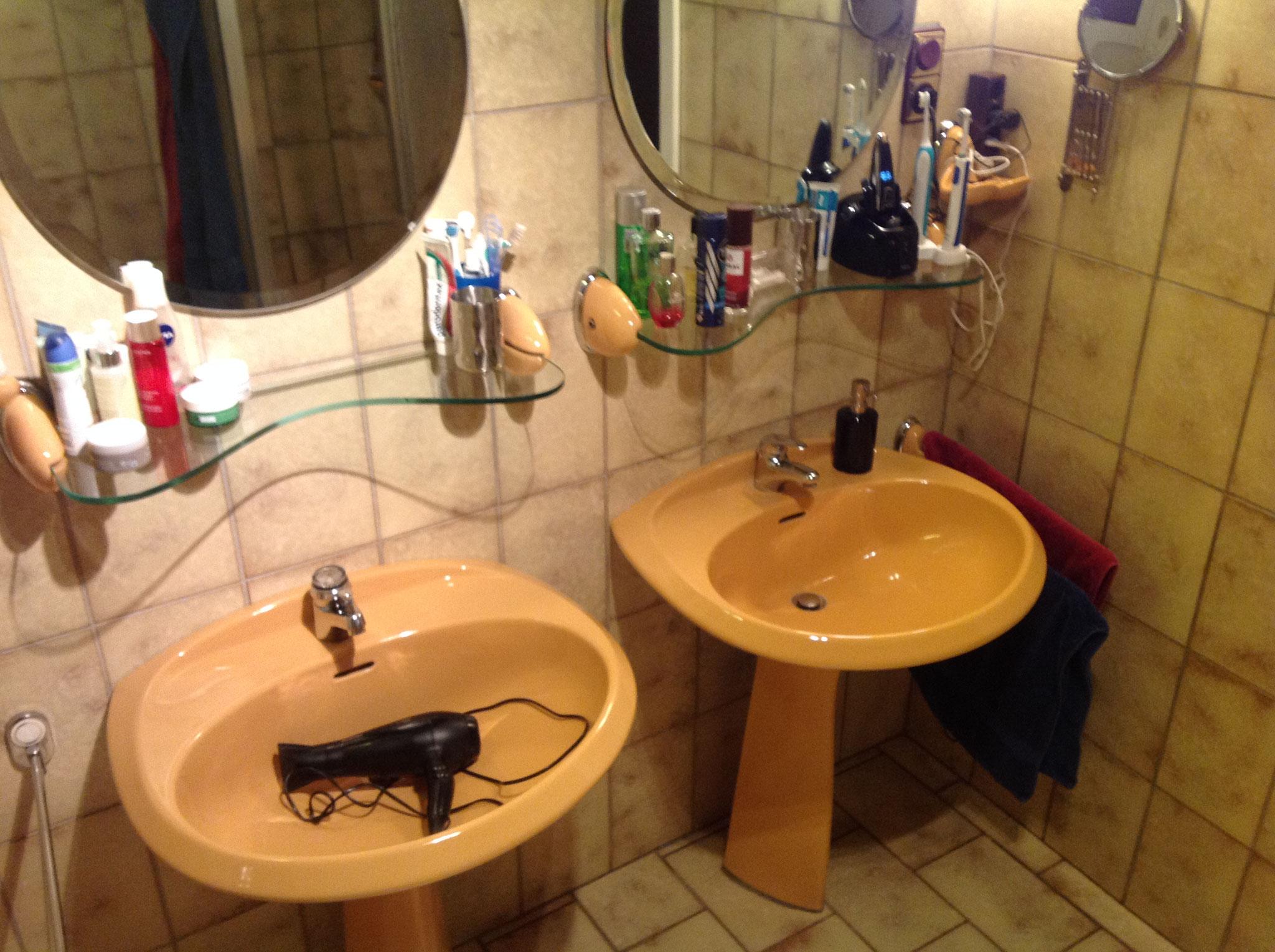 Badezimmer - vor der Sanierung